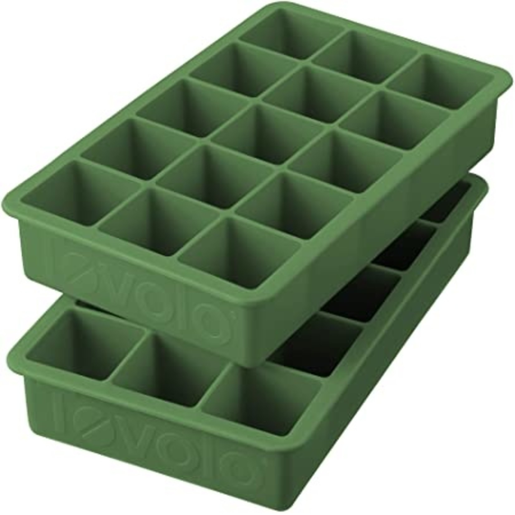 Tovolo Perfect Cube Ice Tray Sage Green