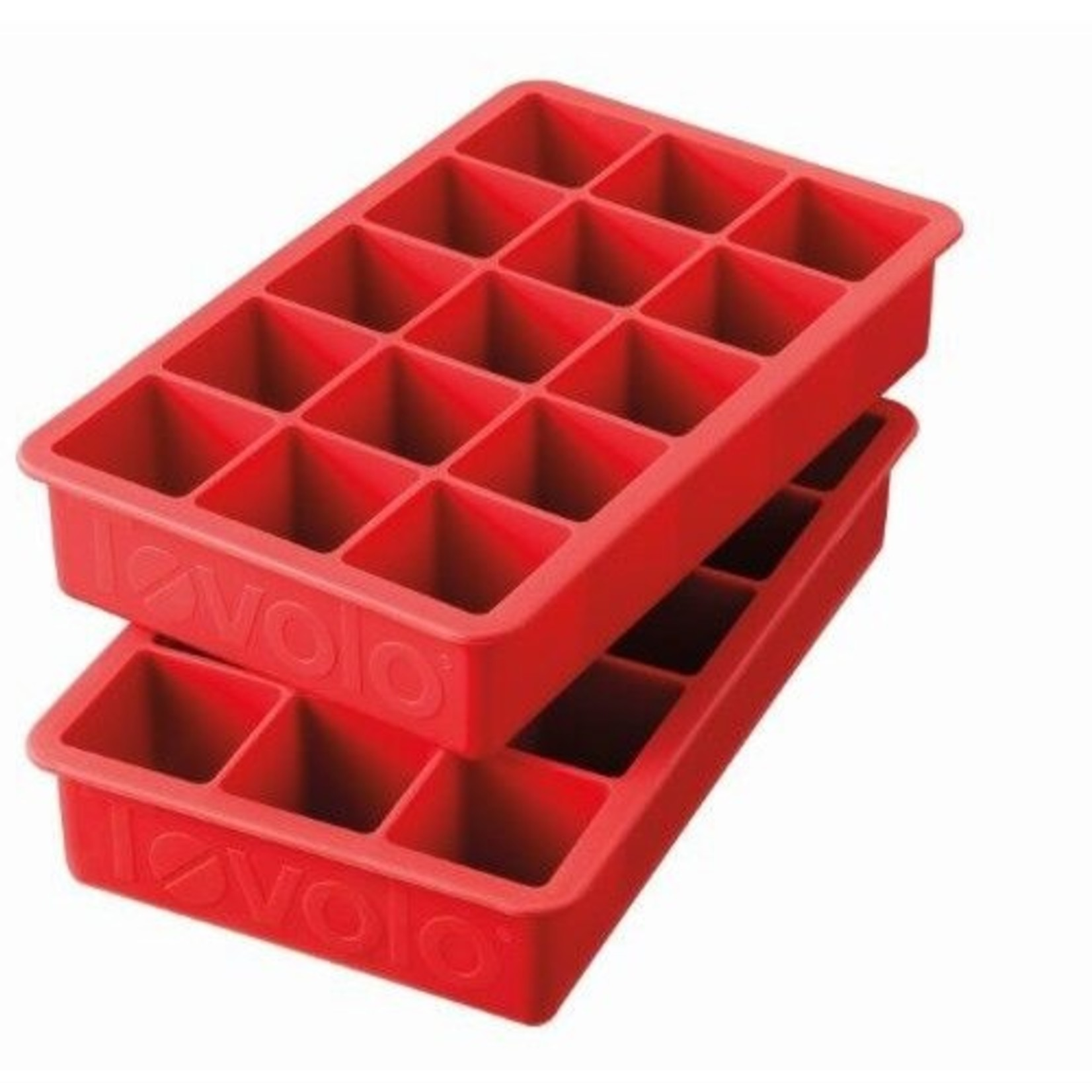 Tovolo Perfect Cube Ice Tray Ruby Red