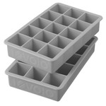 Tovolo Perfect Cube Ice Tray Oyster Grey