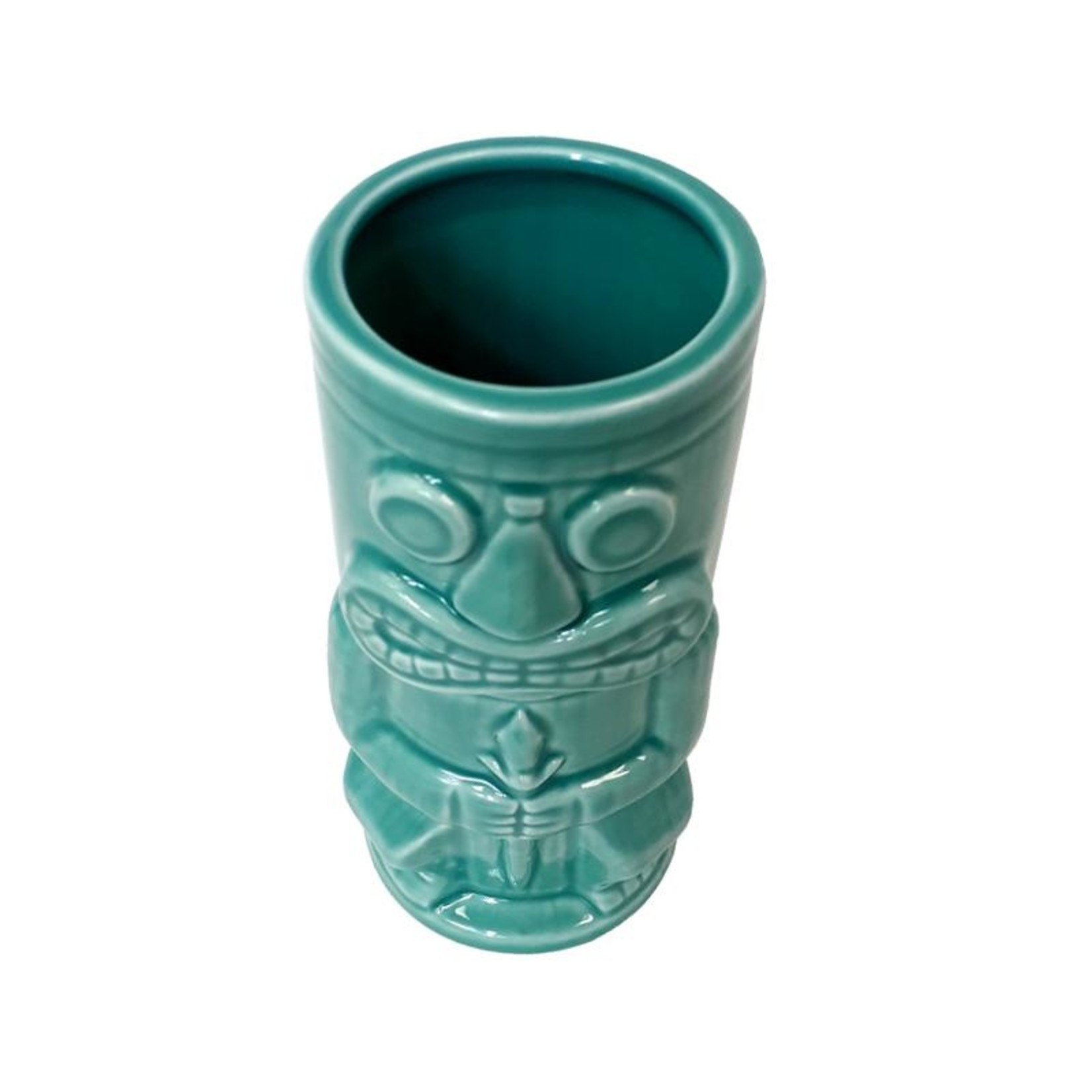 Stone God Tiki Mug - Teal