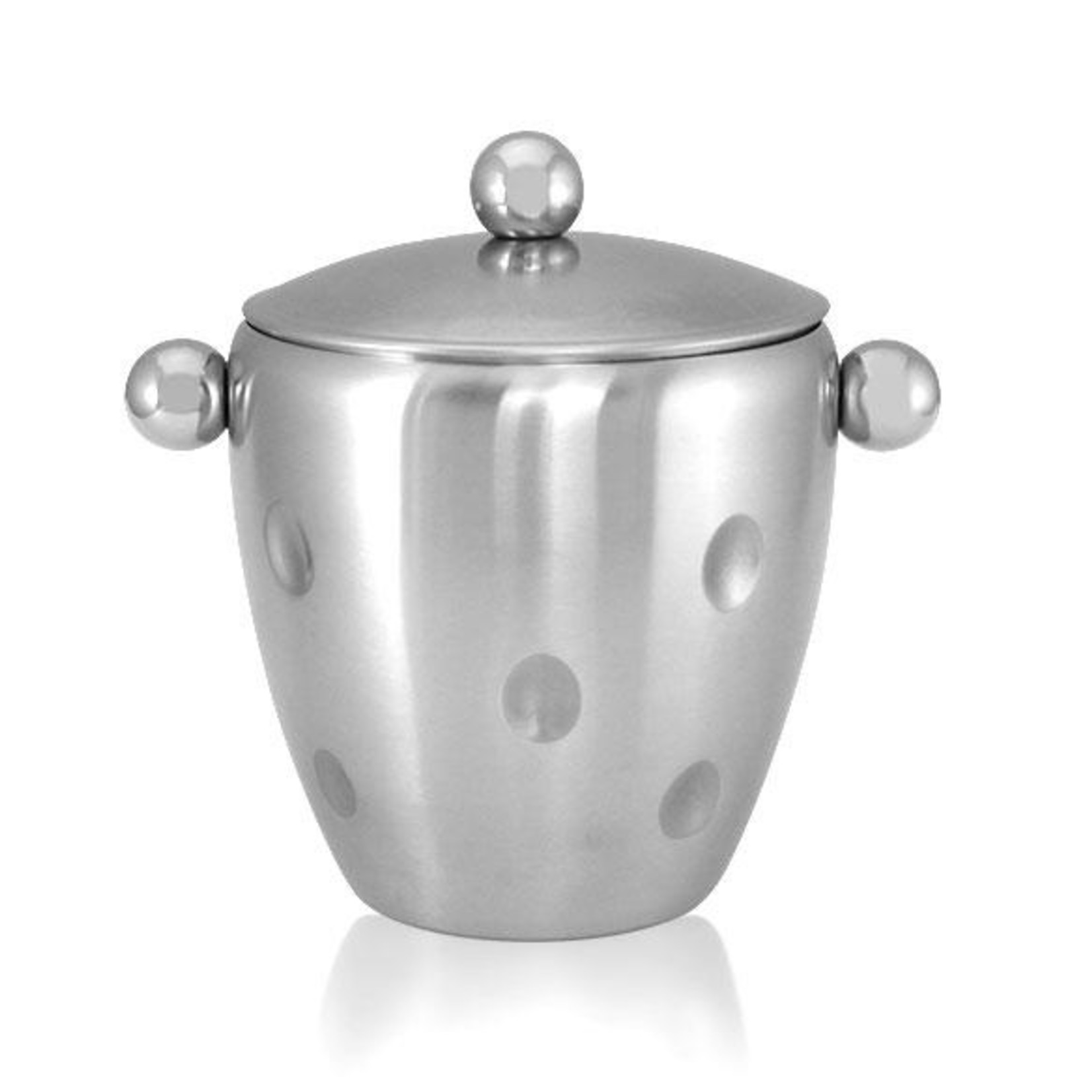 Dimpled Ice Bucket with Lid