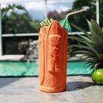 Orange Surf Board Tiki Mug