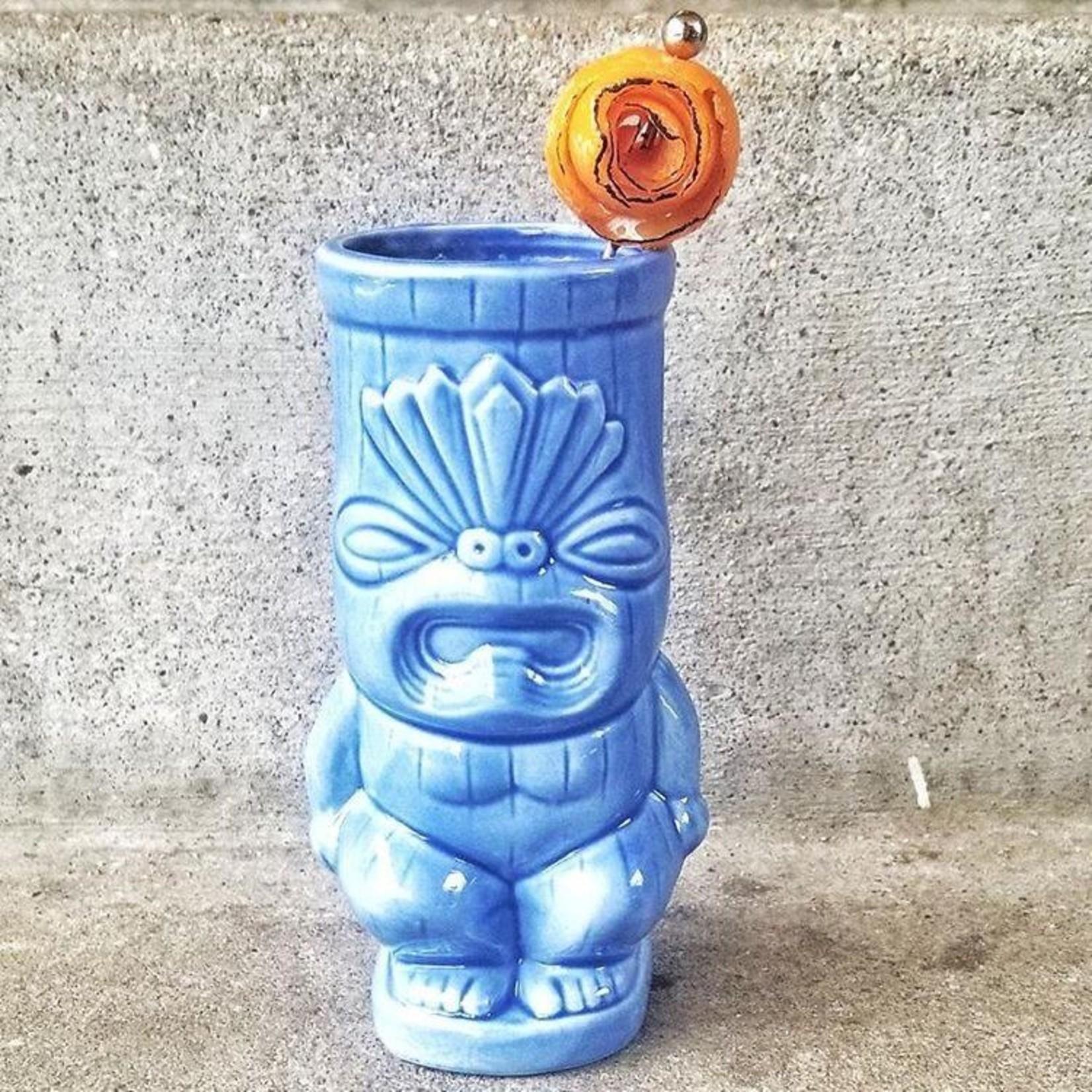 Blue Bum Tiki Mug