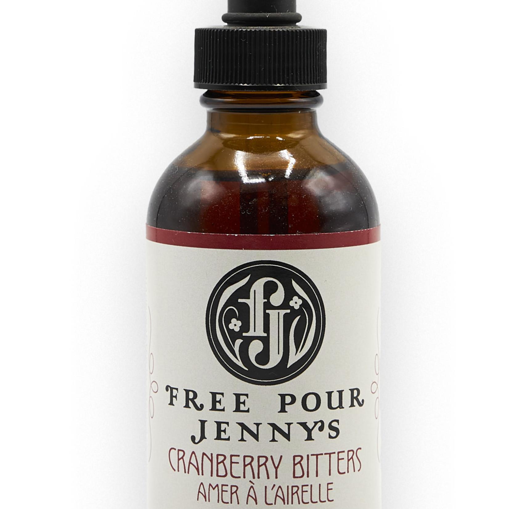 Free Pour Jenny's Free Pour Jenny's Bitters Cranberry