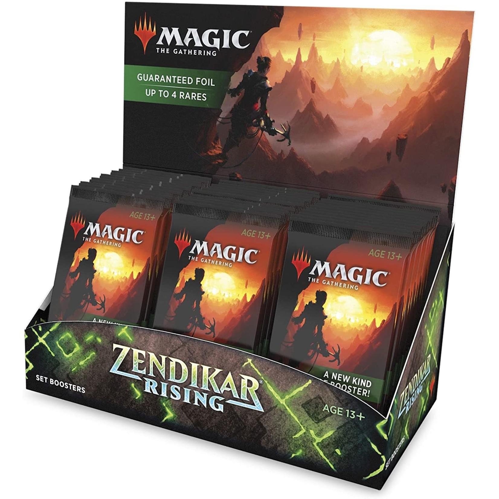 Wizards of the Coast Zendikar Rising Set Booster Display