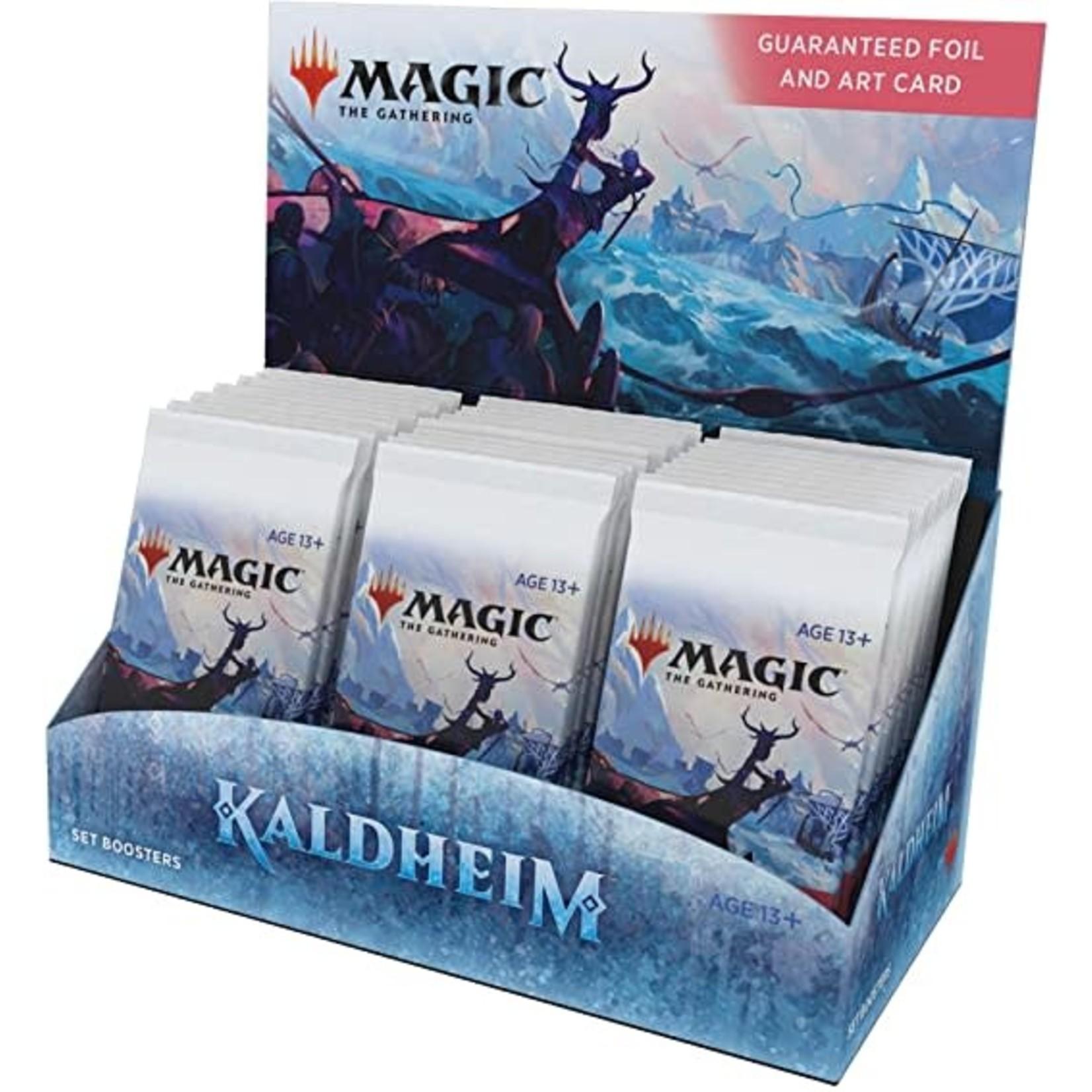 Wizards of the Coast Kaldheim SET Booster Display