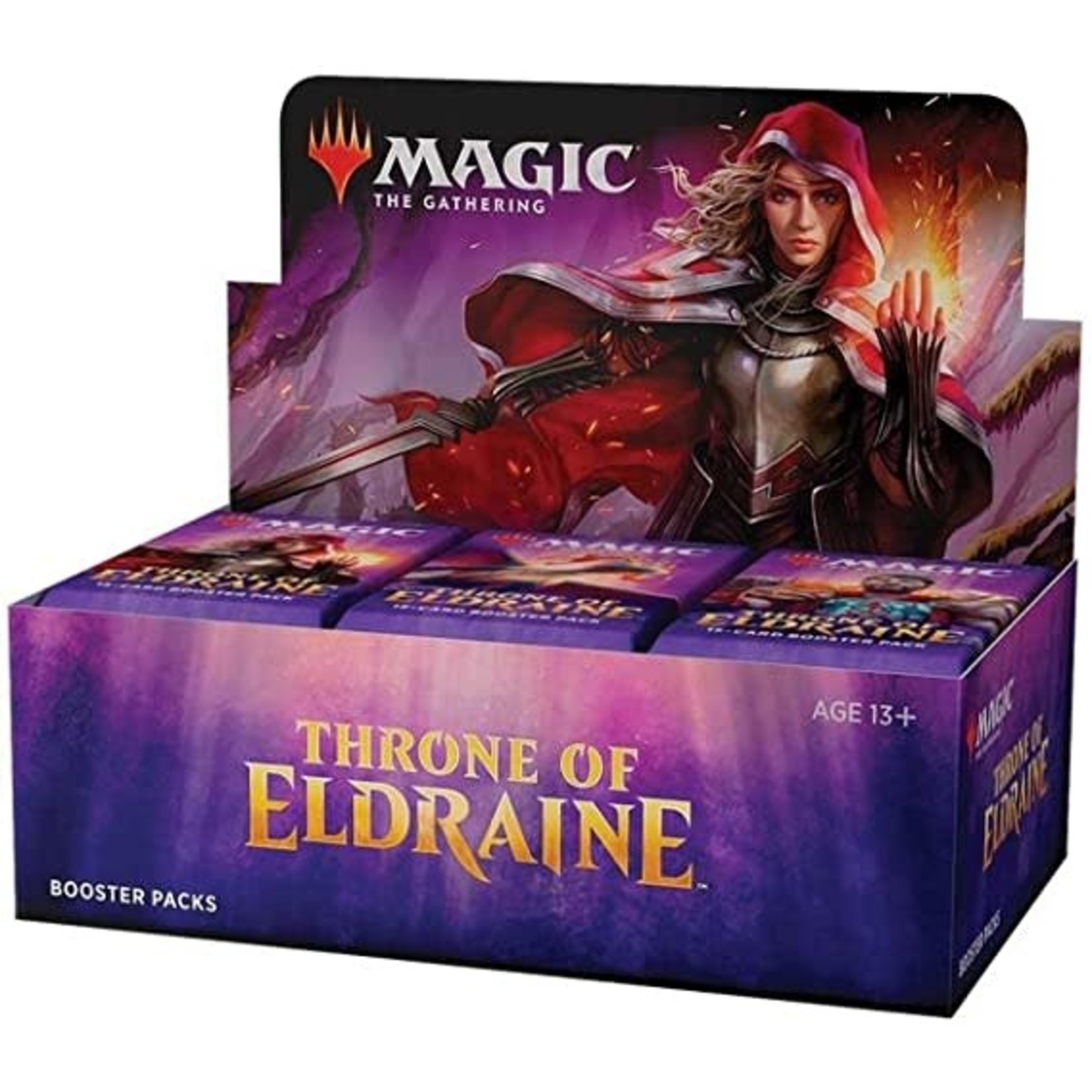 Wizards of the Coast Throne of Eldraine Draft Booster Display