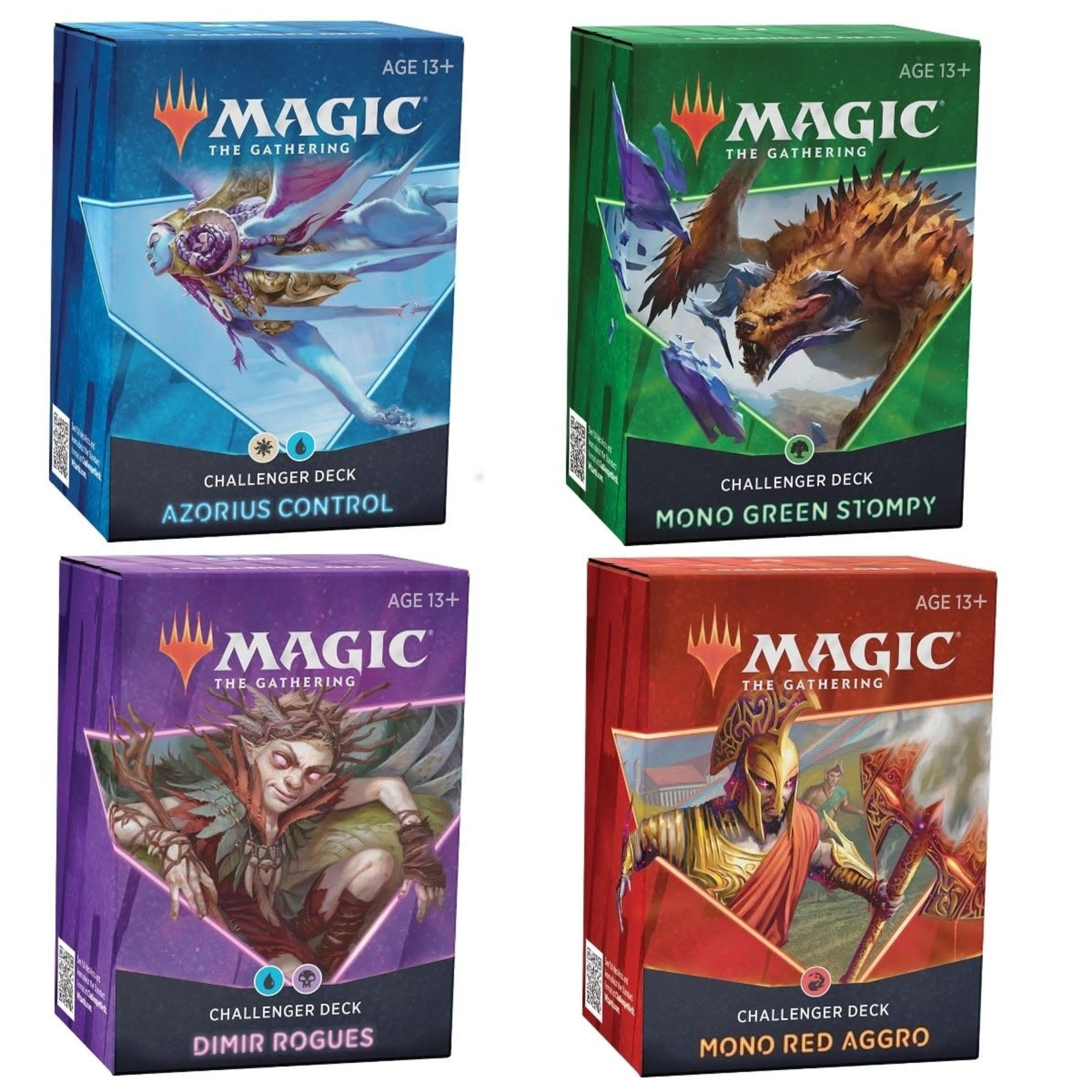 Wizards of the Coast Challenger Deck 2021