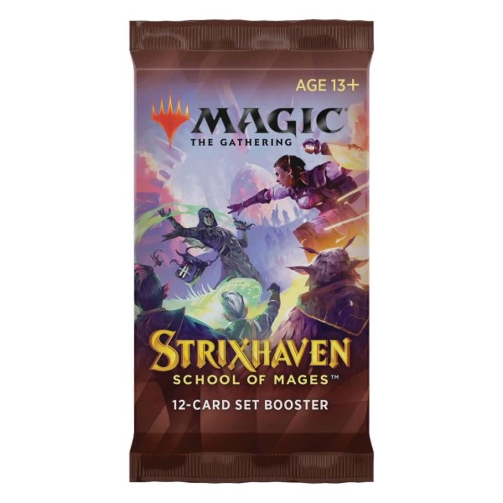 Wizards of the Coast Strixhaven - School of Mages Set Booster Pack