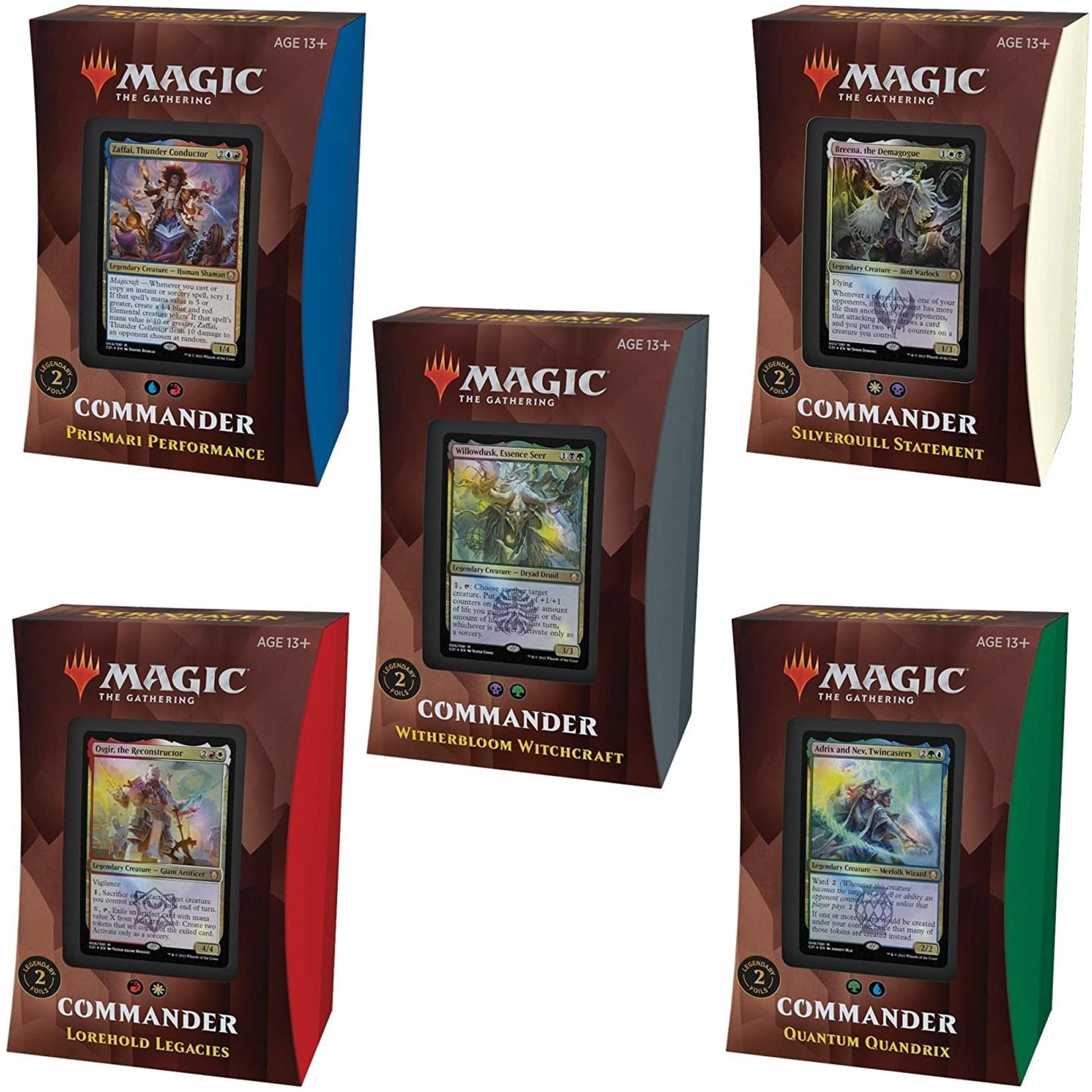 Wizards of the Coast Strixhaven - School of Mages Commander Deck