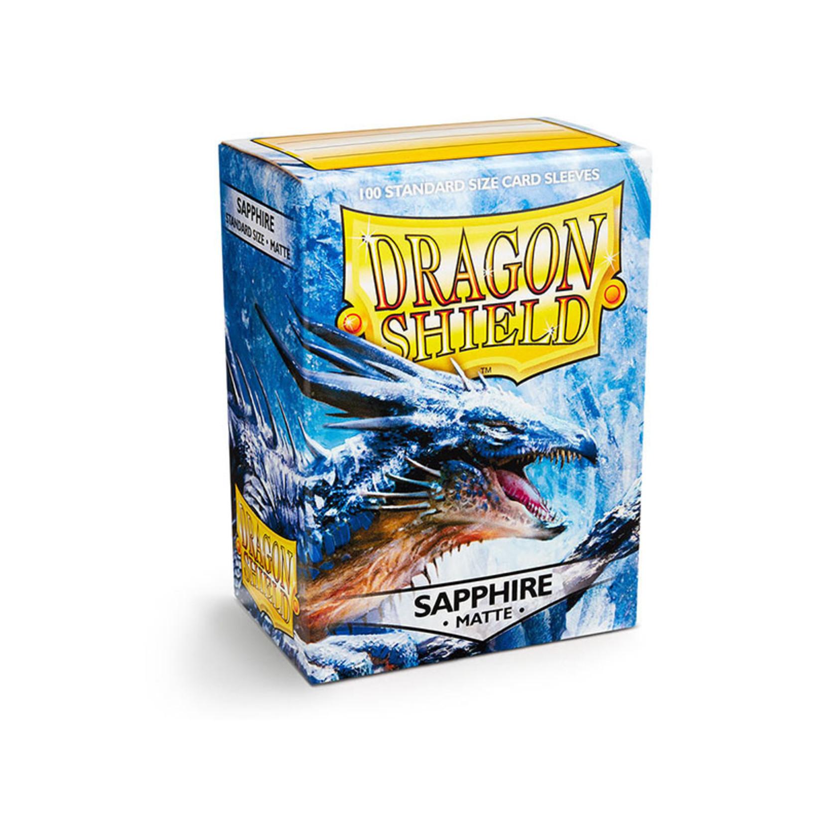 ARCANE TINMEN Dragon Shield: (100) Matte Sapphire
