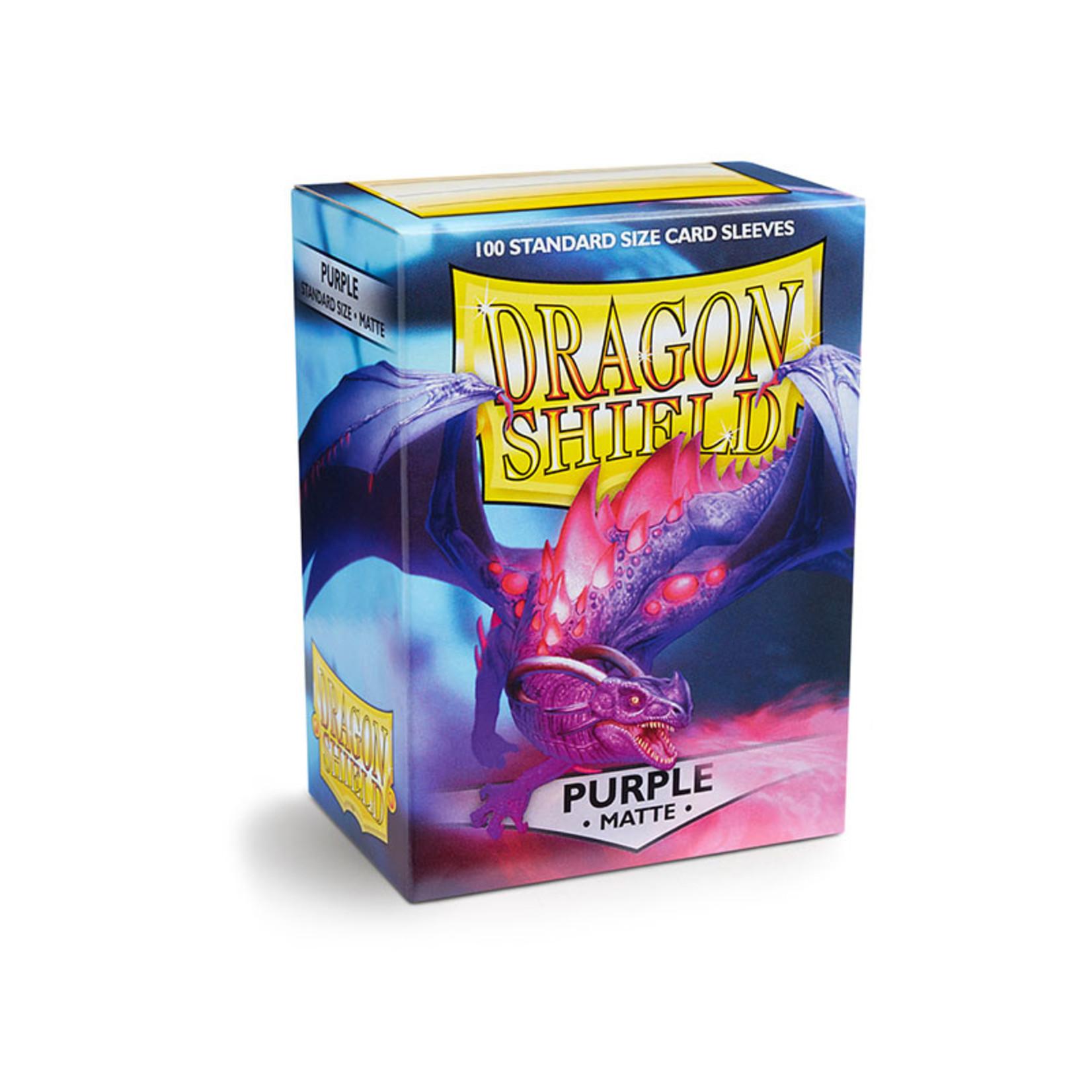 ARCANE TINMEN Dragon Shield: (100) Matte Purple