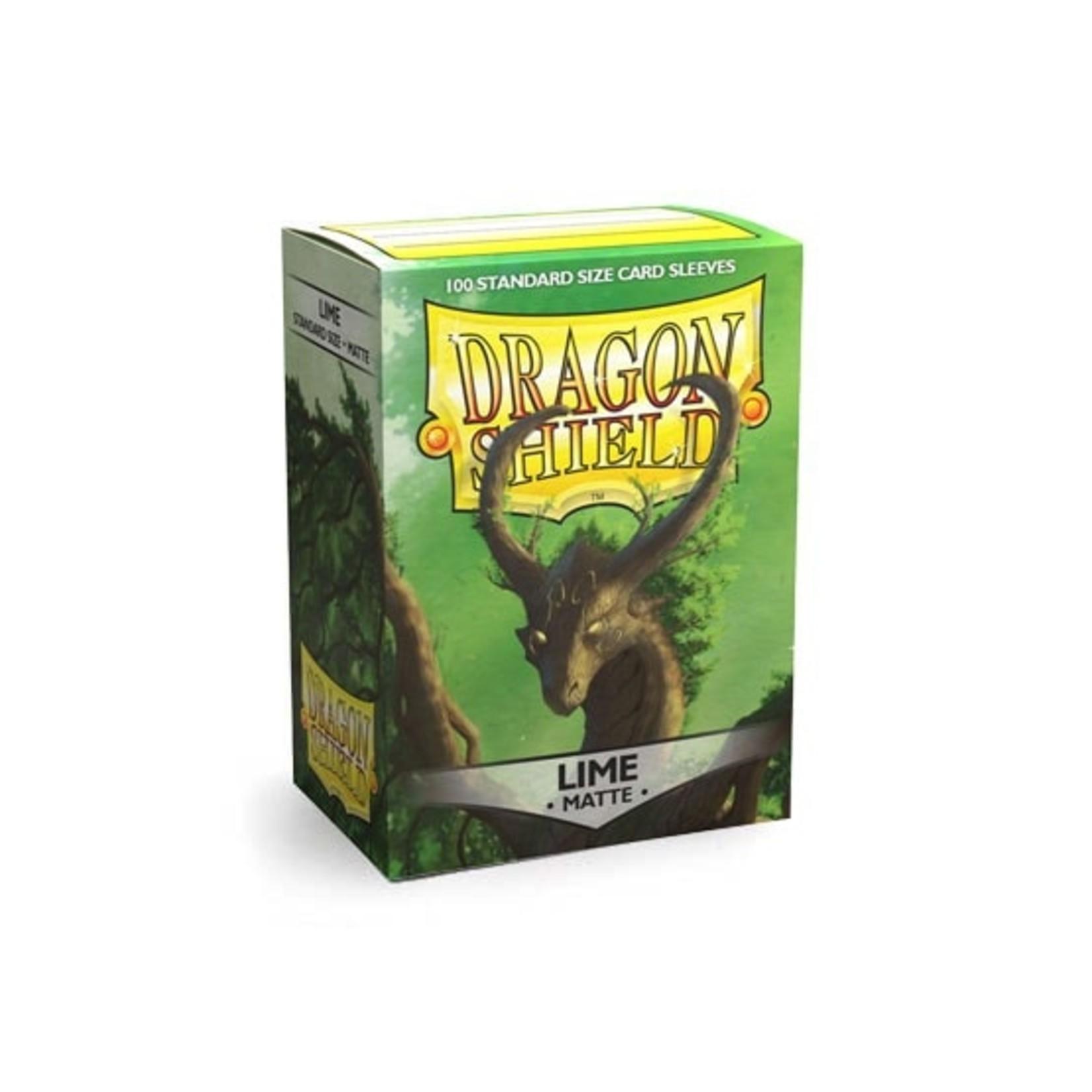 ARCANE TINMEN Dragon Shield: (100) Matte Lime