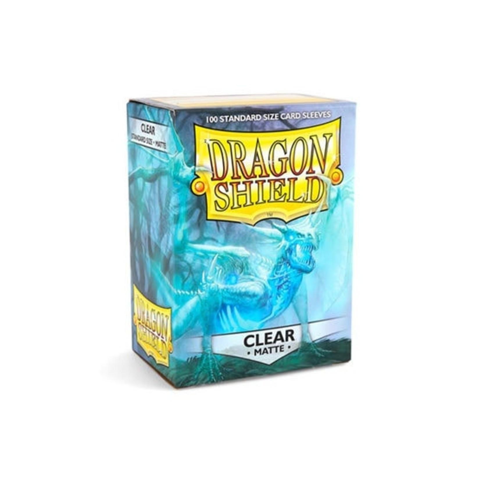 ARCANE TINMEN Dragon Shield: (100) Matte Clear