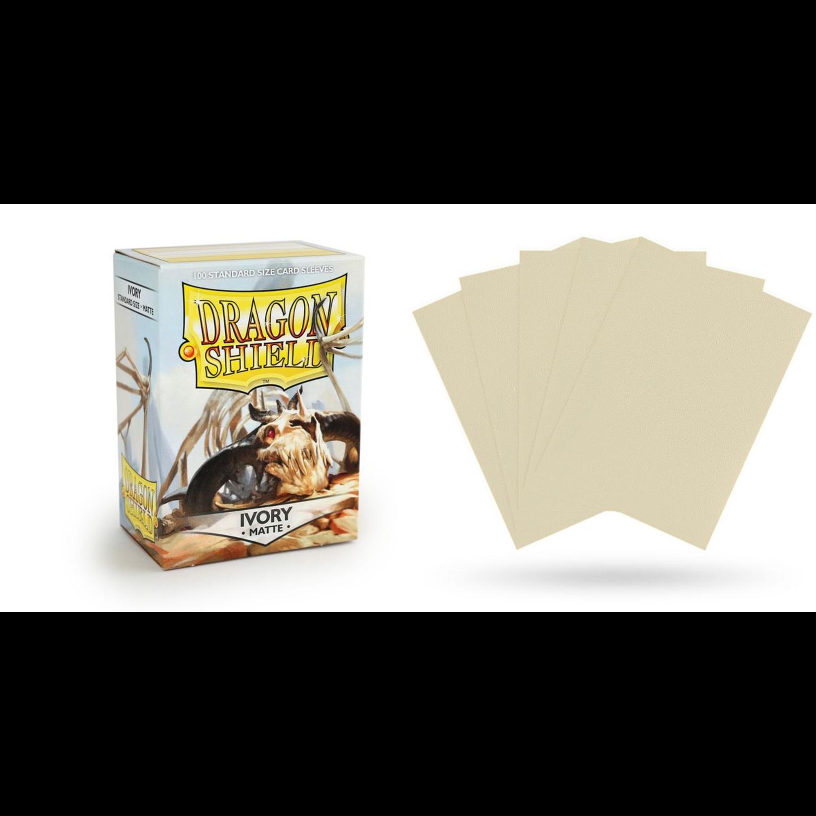 ARCANE TINMEN Dragon Shield: (100) Matte Ivory