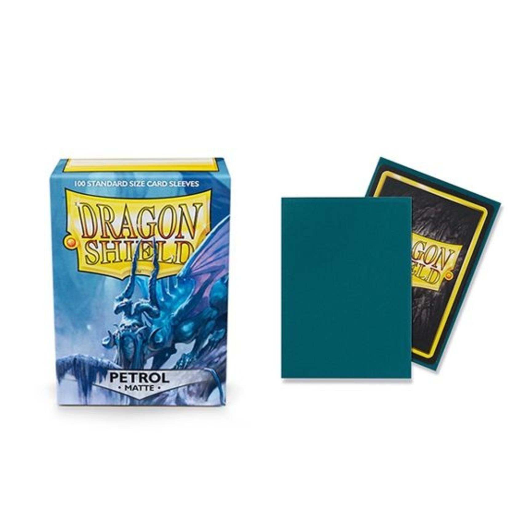 ARCANE TINMEN Dragon Shield: (100) Matte Petrol