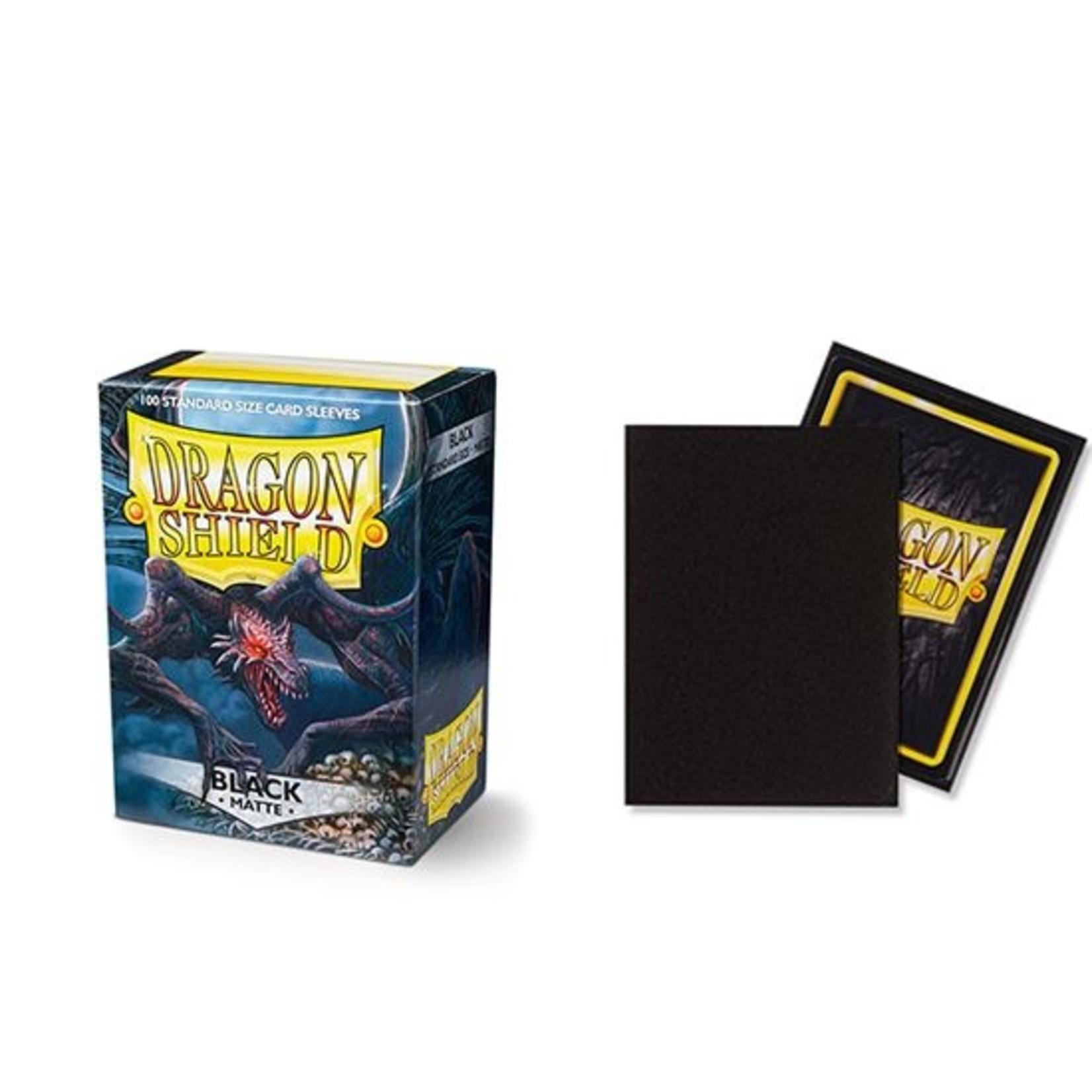ARCANE TINMEN Dragon Shield: (100) Matte Black