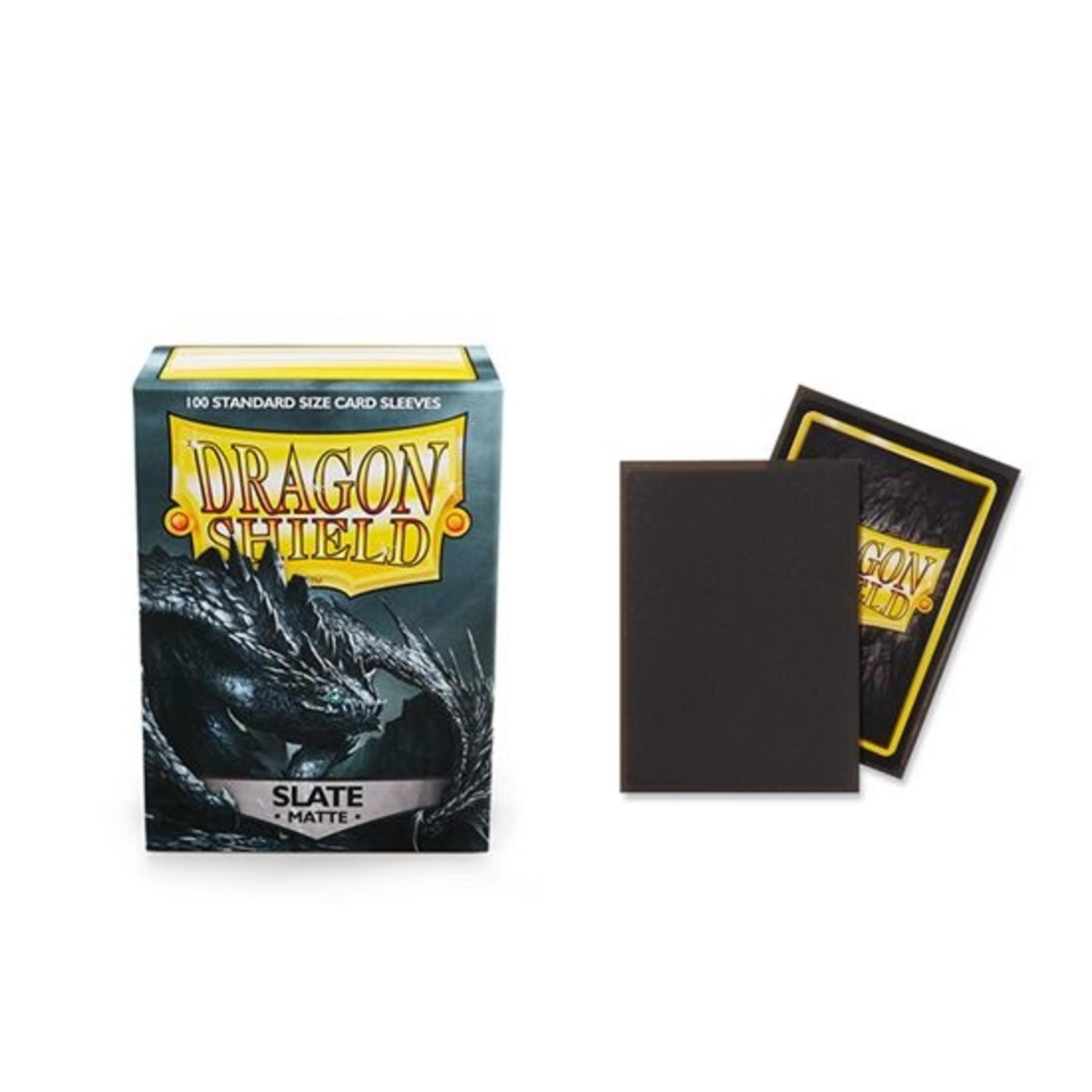 ARCANE TINMEN Dragon Shield: (100) Matte Slate