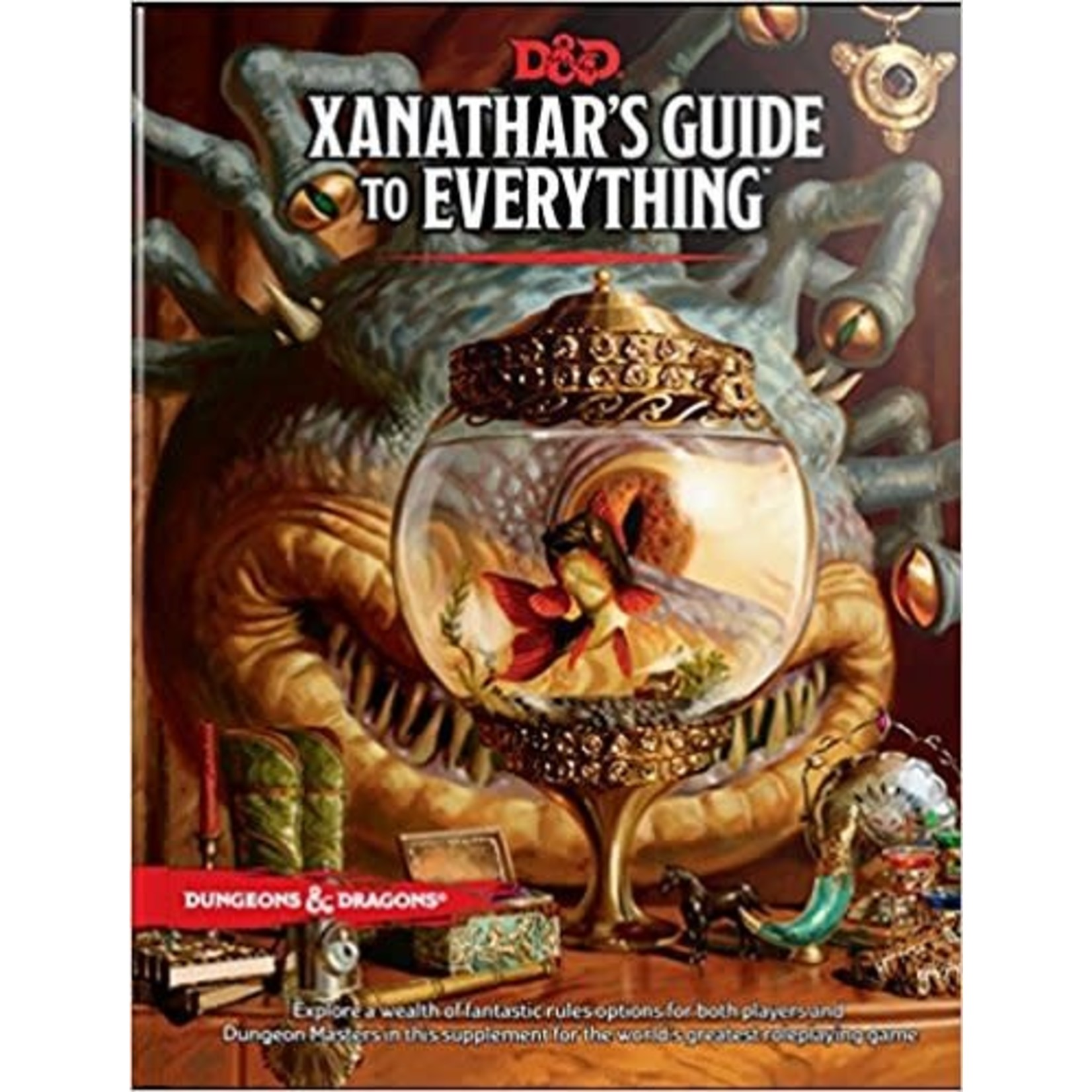 Wizards of the Coast D&D 5th Ed Xanathar's Guide to Everything