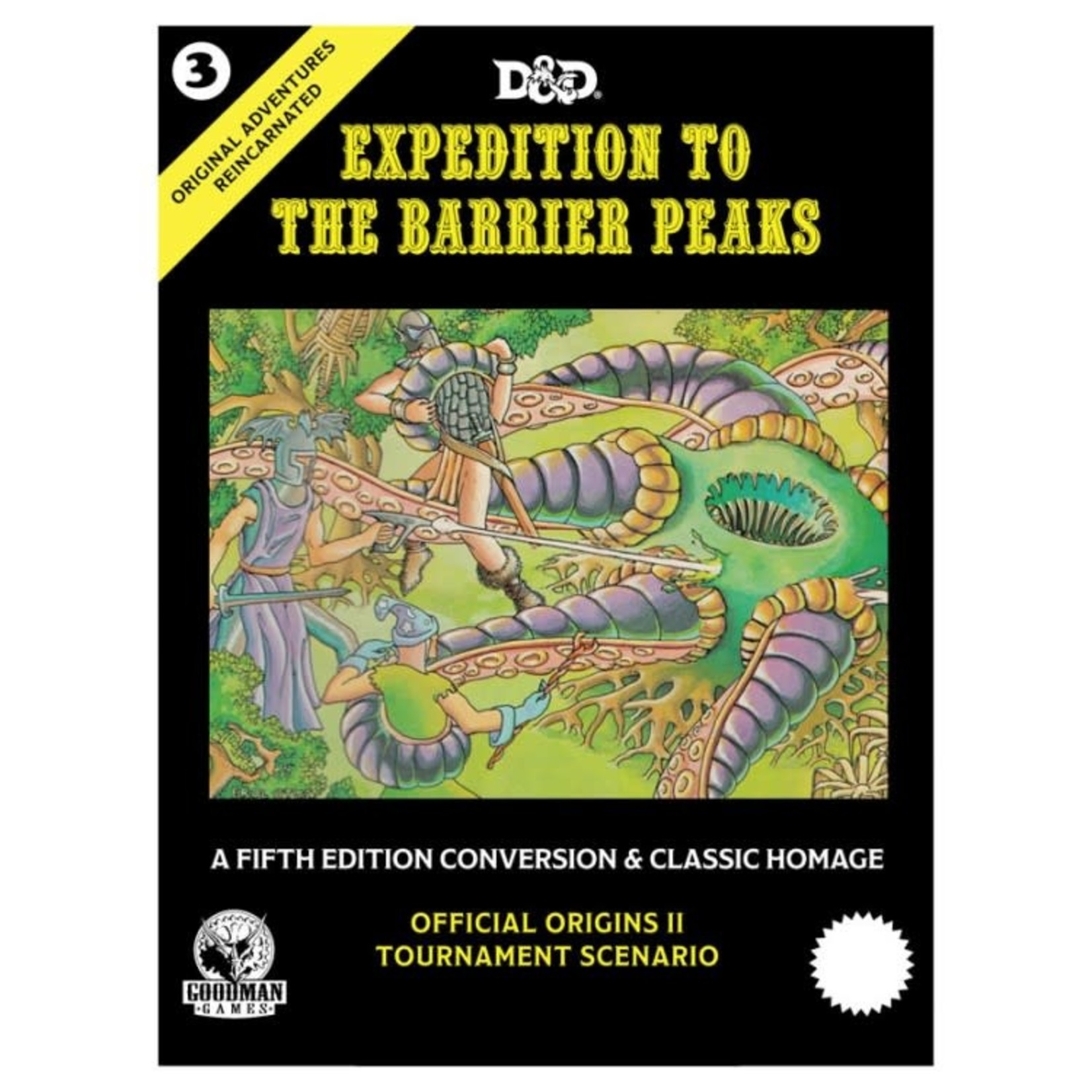Goodman Games D&D 5th Ed Original Adventures Reincarnated #3: Expedition to the Barrier Peaks