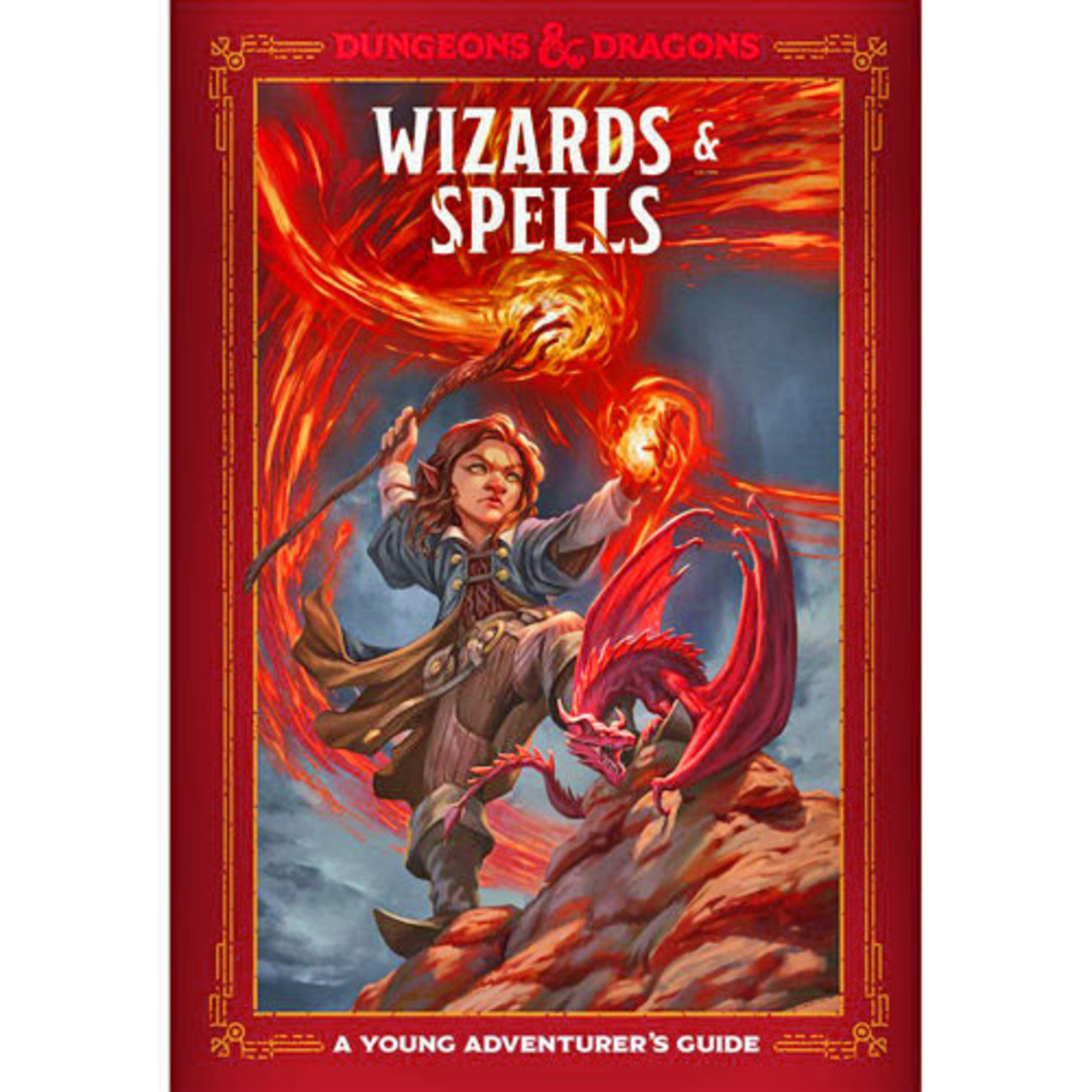 Penguin Random House D&D 5th Ed A Young Adventurer's Guide - Wizards and Spells (Hardcover)