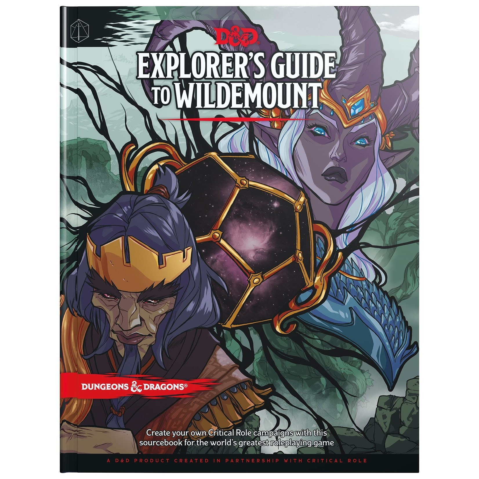 Wizards of the Coast D&D 5th Ed Explorer's Guide to Wildemount
