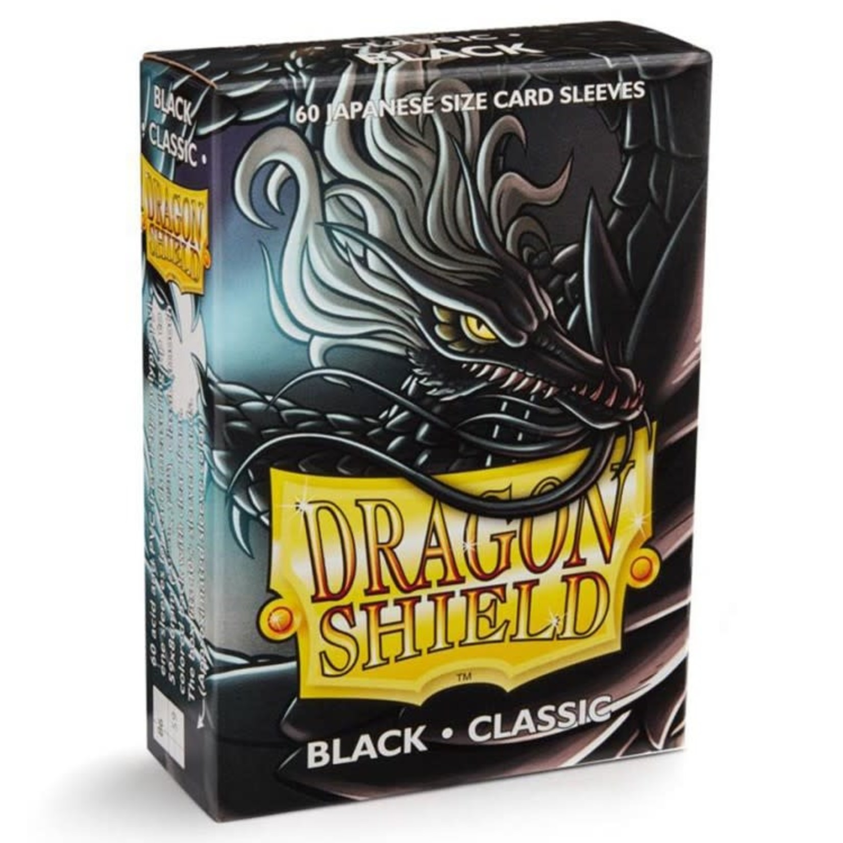 ARCANE TINMEN Dragon Shield:  Japanese (60) Black