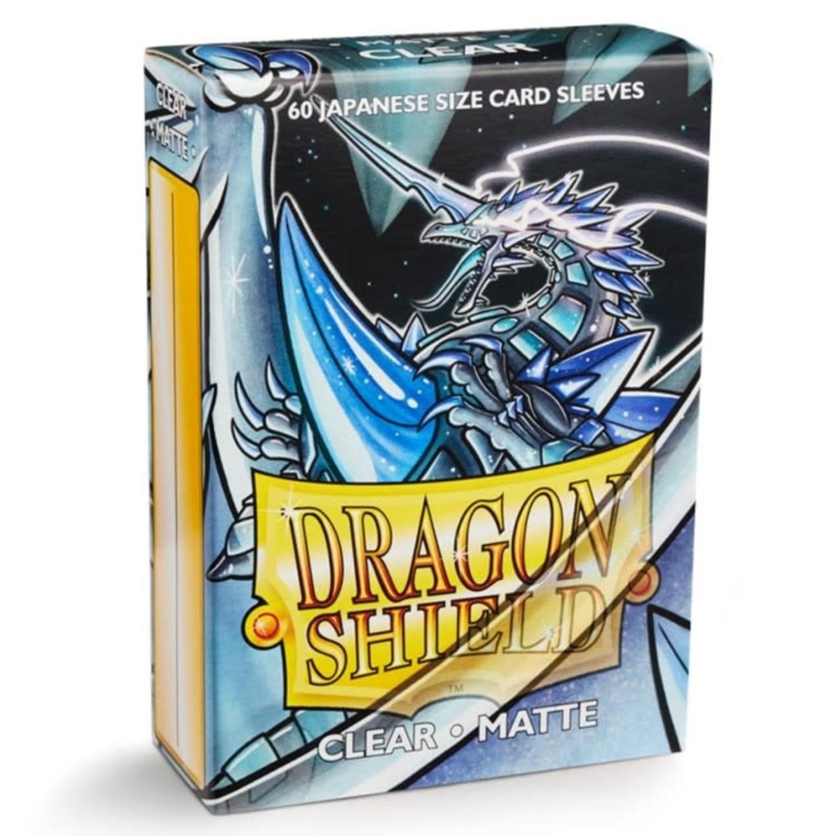ARCANE TINMEN Dragon Shield:  Japanese (60) Matte Clear