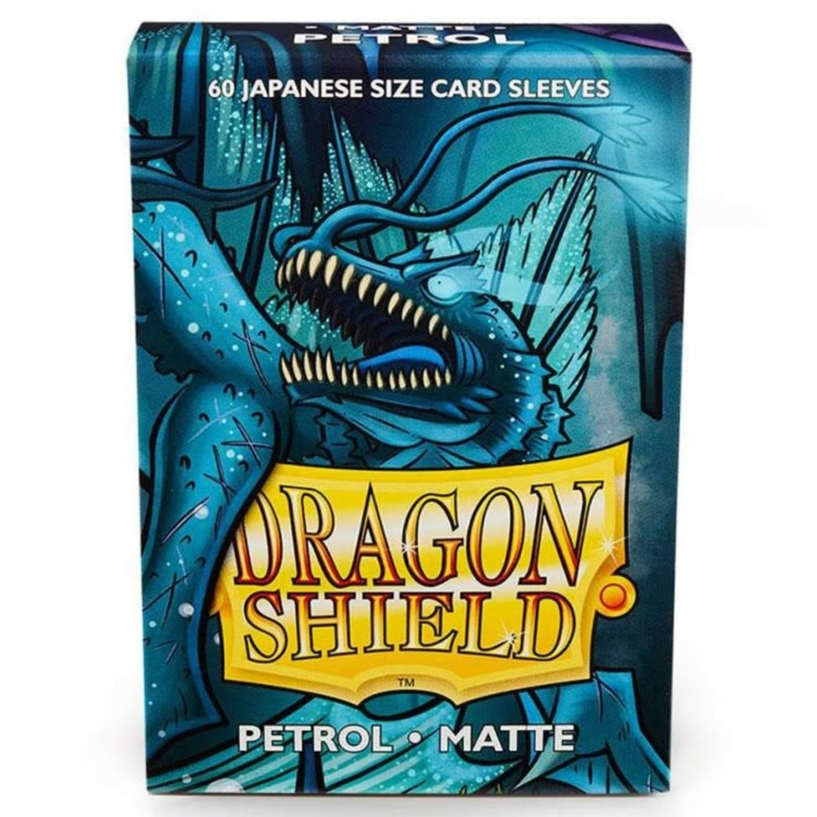 ARCANE TINMEN Dragon Shield:  Japanese (60) Matte Petrol