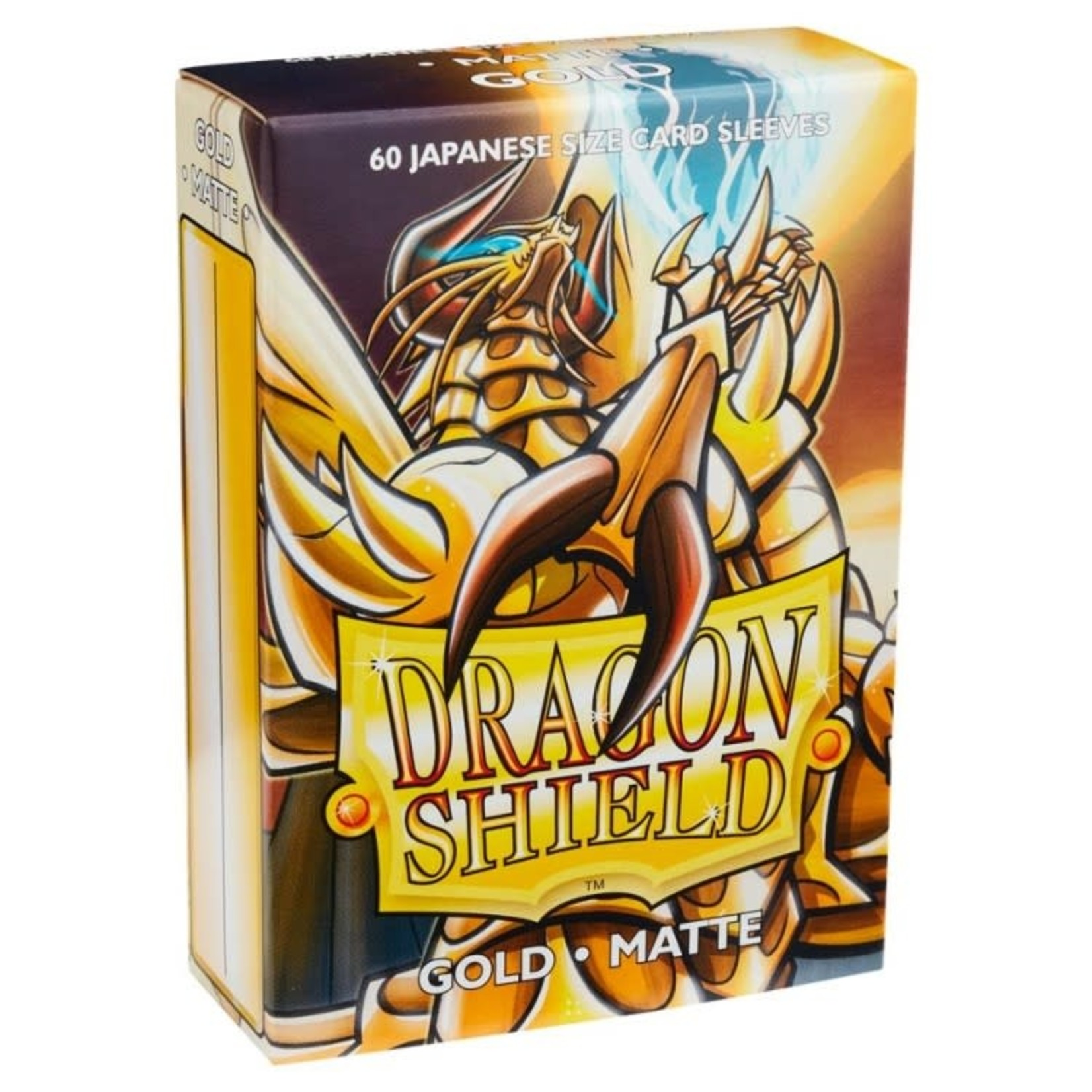 ARCANE TINMEN Dragon Shield:  Japanese (60) Matte Gold