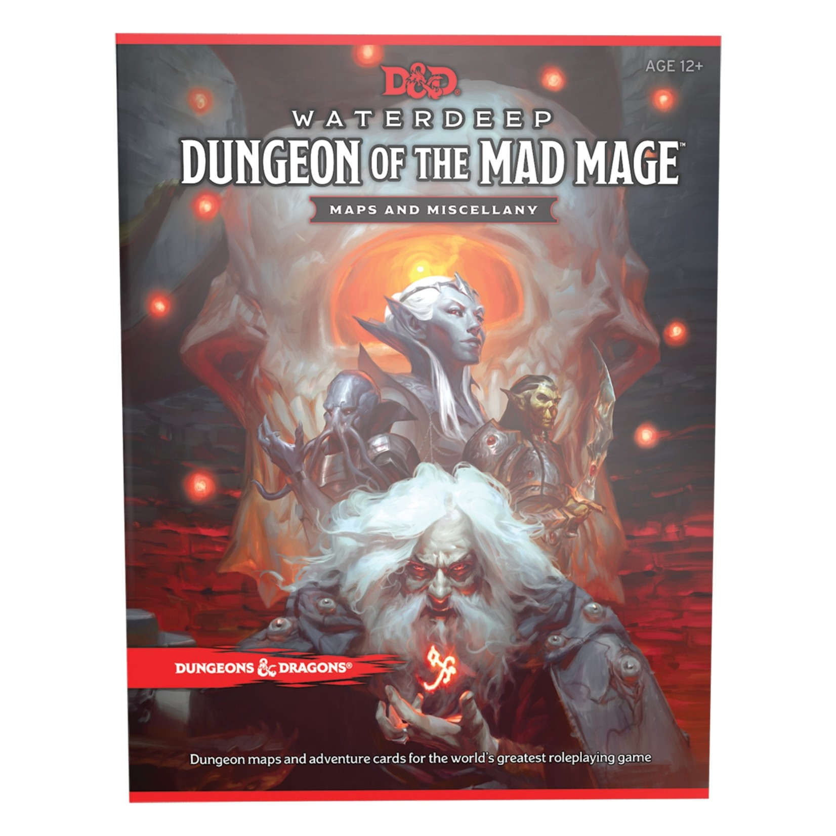 Wizards of the Coast D&D 5th Ed Waterdeep - Dungeon of the Mad Mage Map Pack