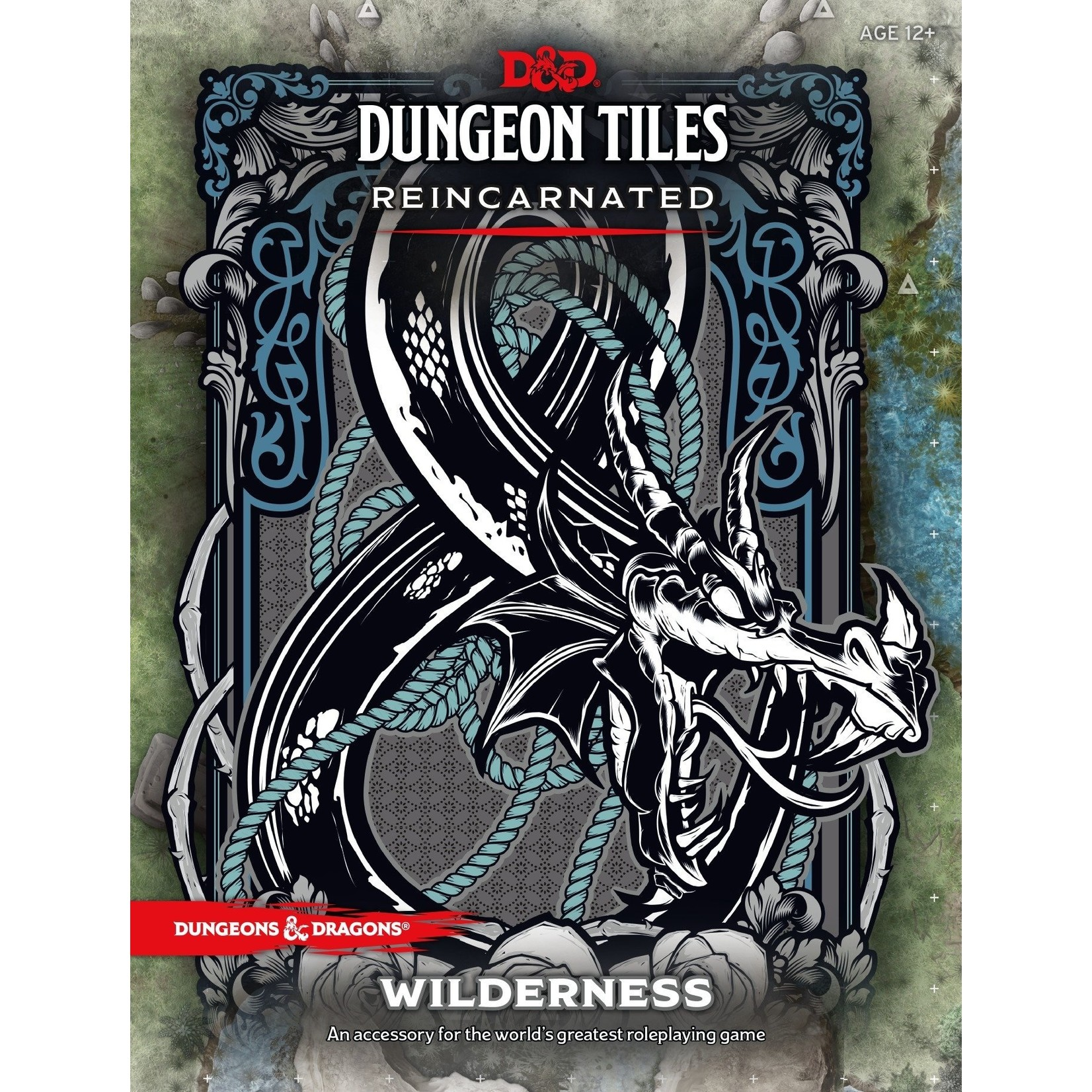 Wizards of the Coast D&D 5th Ed Dungeon Tiles Reincarnated: The Wilderness
