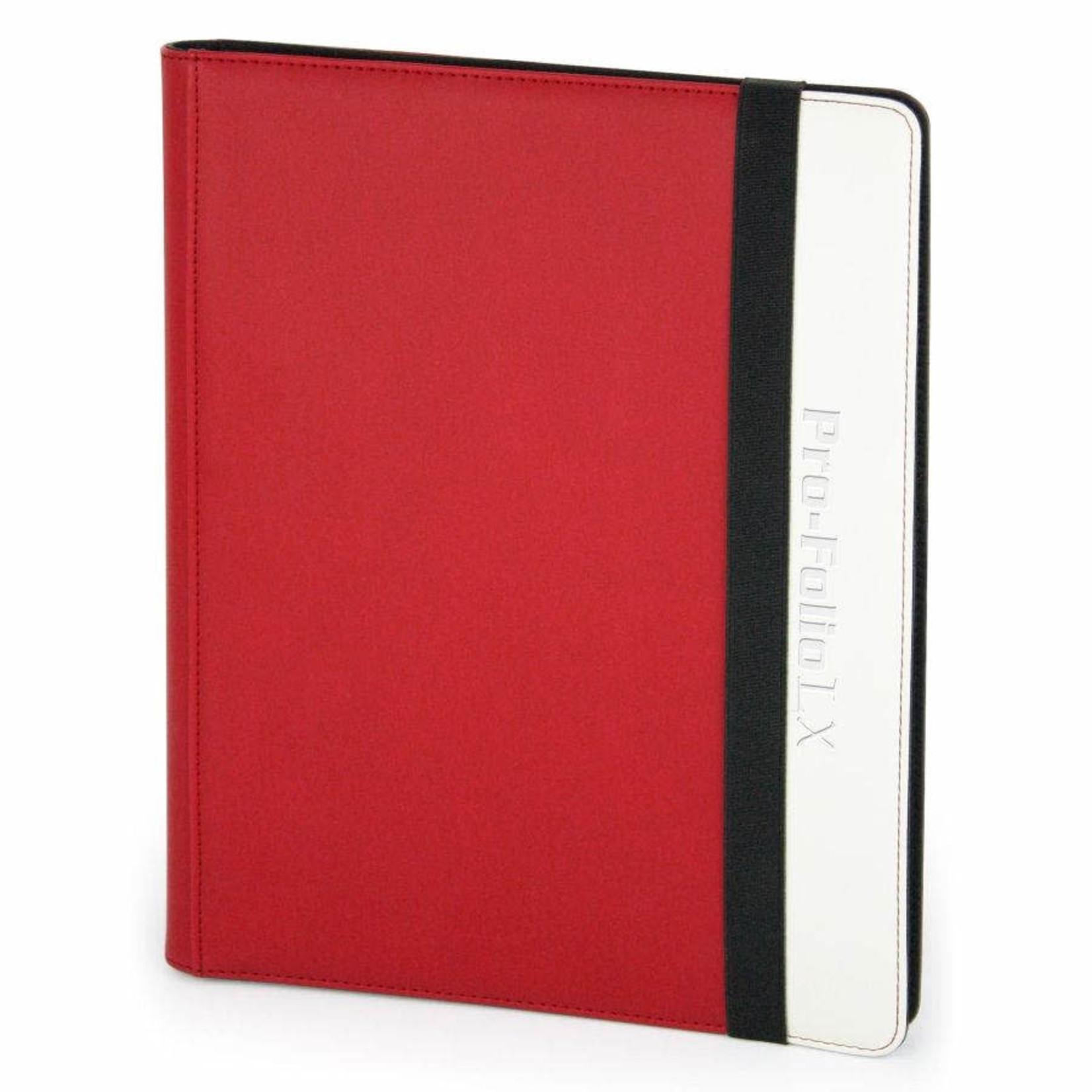 BCW Supplies Pro-Folio - 9-Pocket LX Red/White