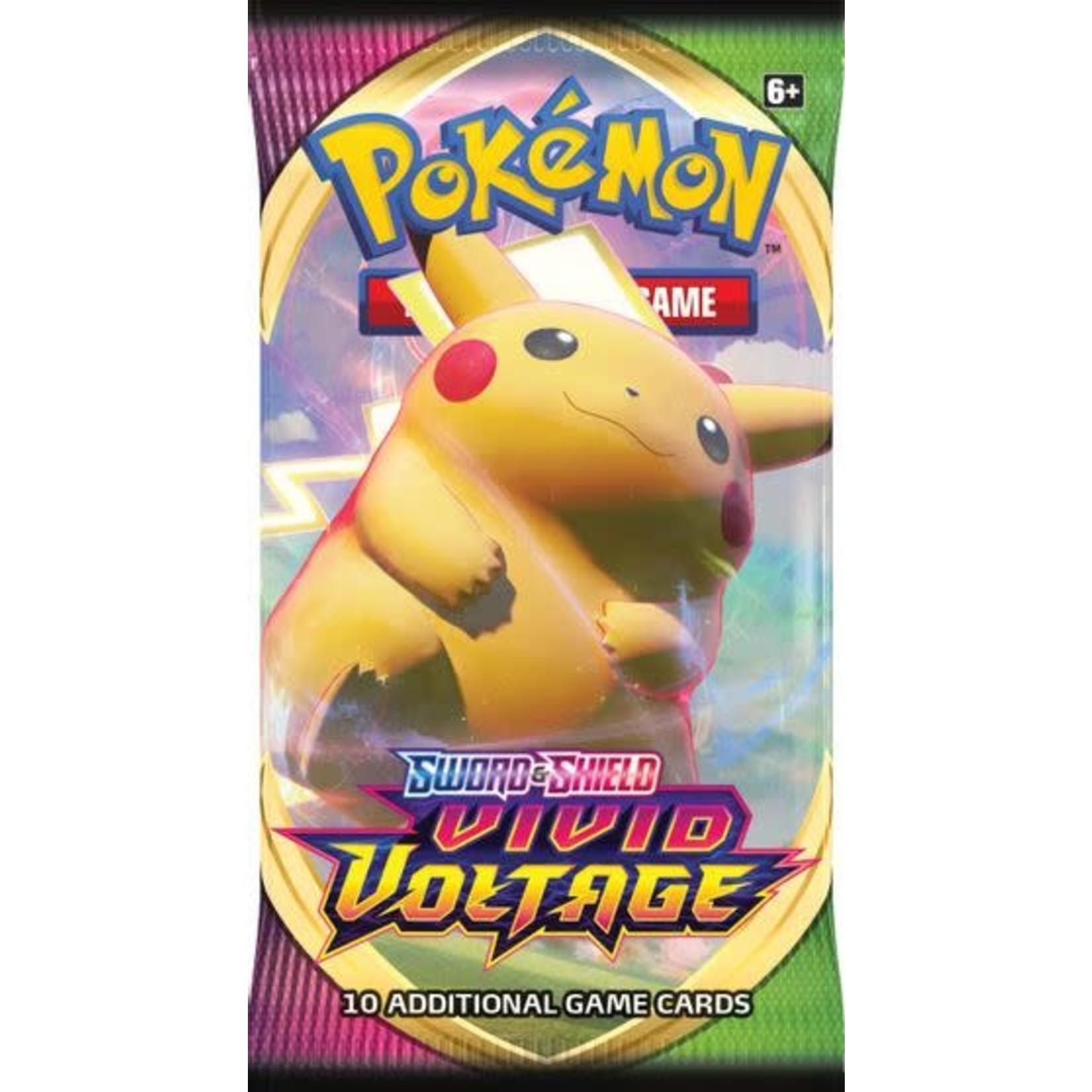 Pokemon Company International Pokemon TCG: Sword & Shield - Vivid Voltage Booster Pack