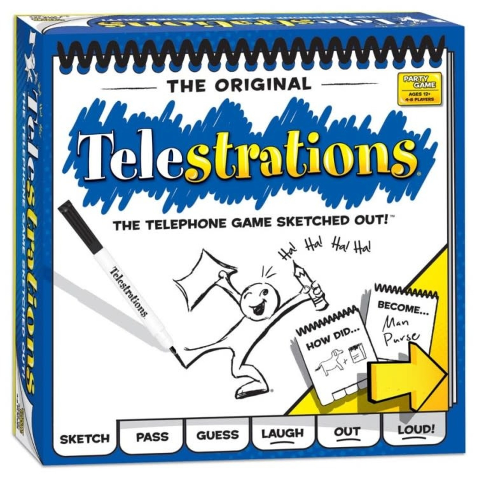 USAOpoly Telestrations Party Game