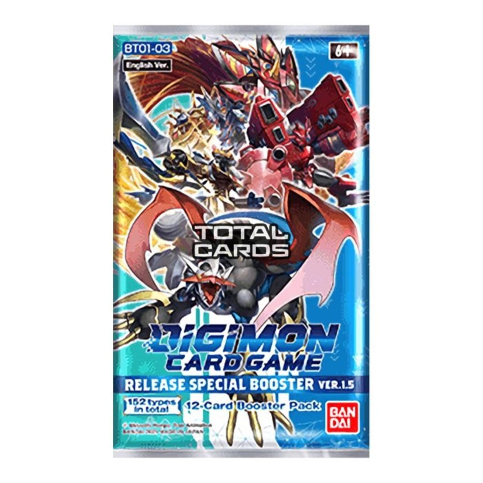 Bandai America, Inc. Digimon TGC: Release Special Booster Pack Ver. 1.5