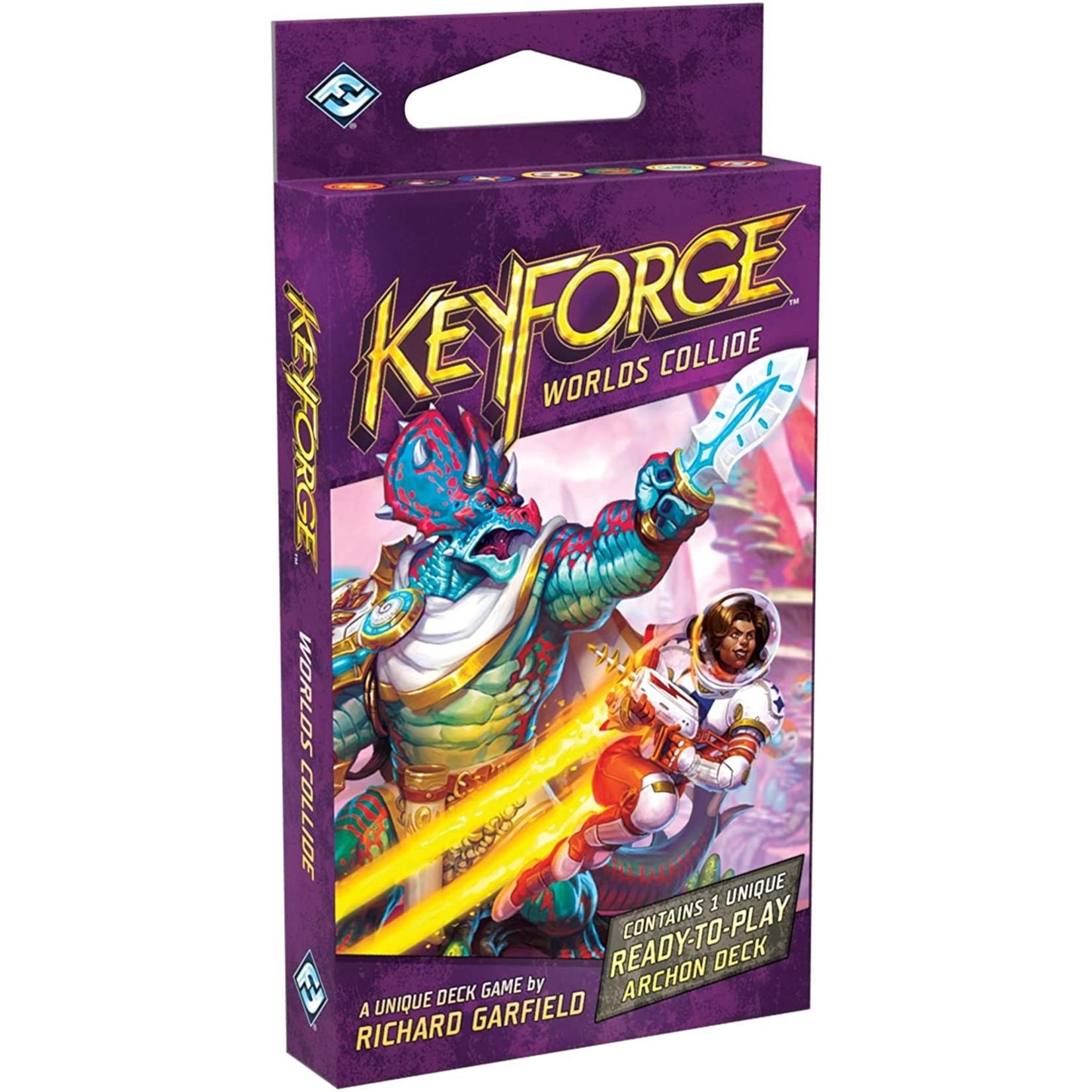 Fantasy Flight Publishing KeyForge: Worlds Collide Deck