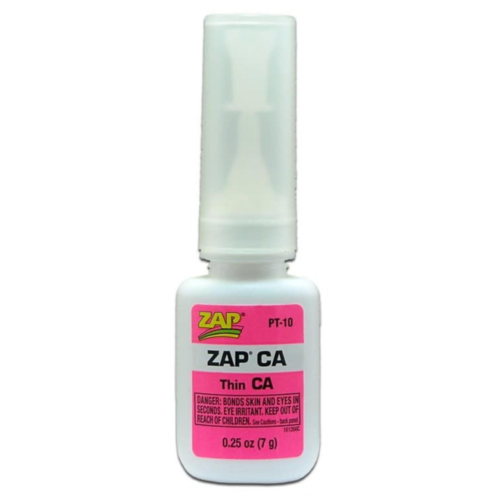 1/4 oz Zap CA (1-5 sec)