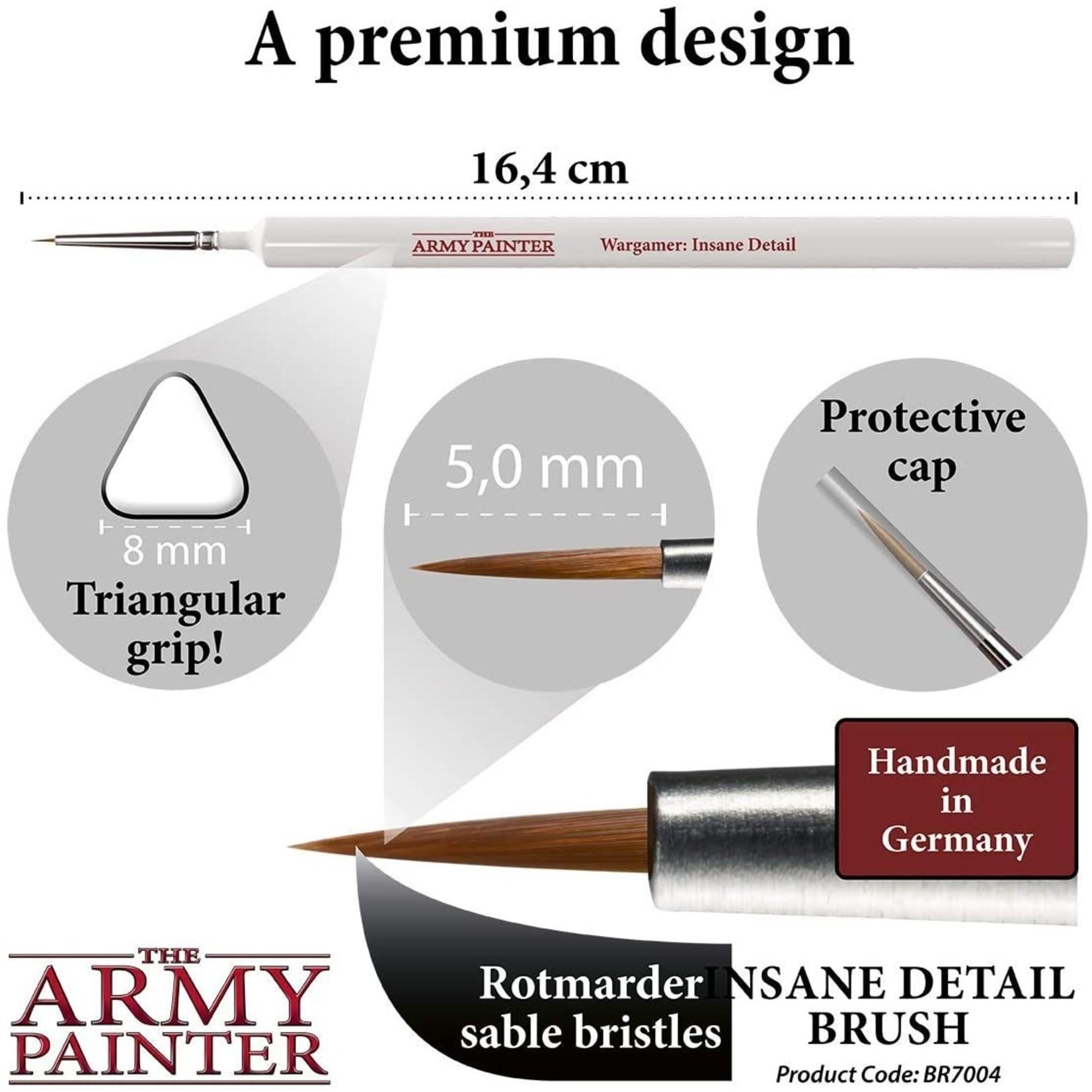 The Army Painter 7004 Wargamer Brush Insane Detail