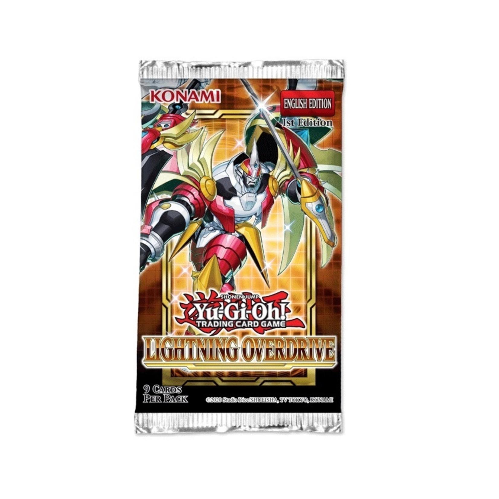 Konami Yu-Gi-Oh! TCG: Lightning Overdrive Booster Pack