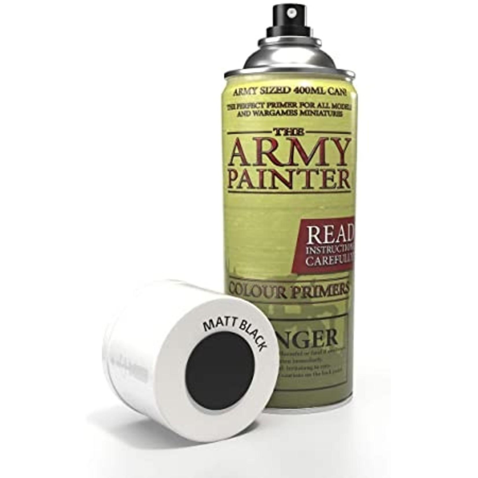 Army Painter: Base Primer Matte Black