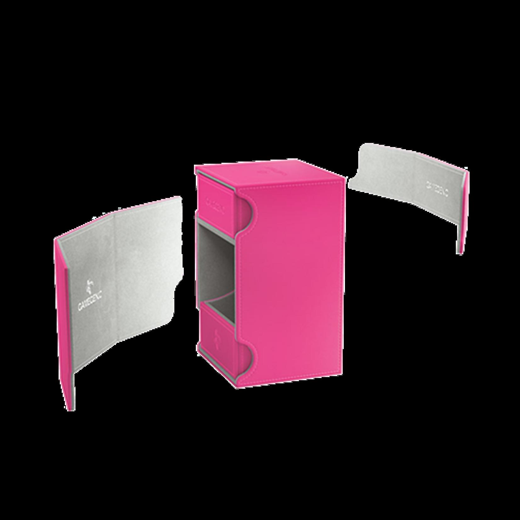 Watchtower 100+ Card Convertible Deck Box: Pink