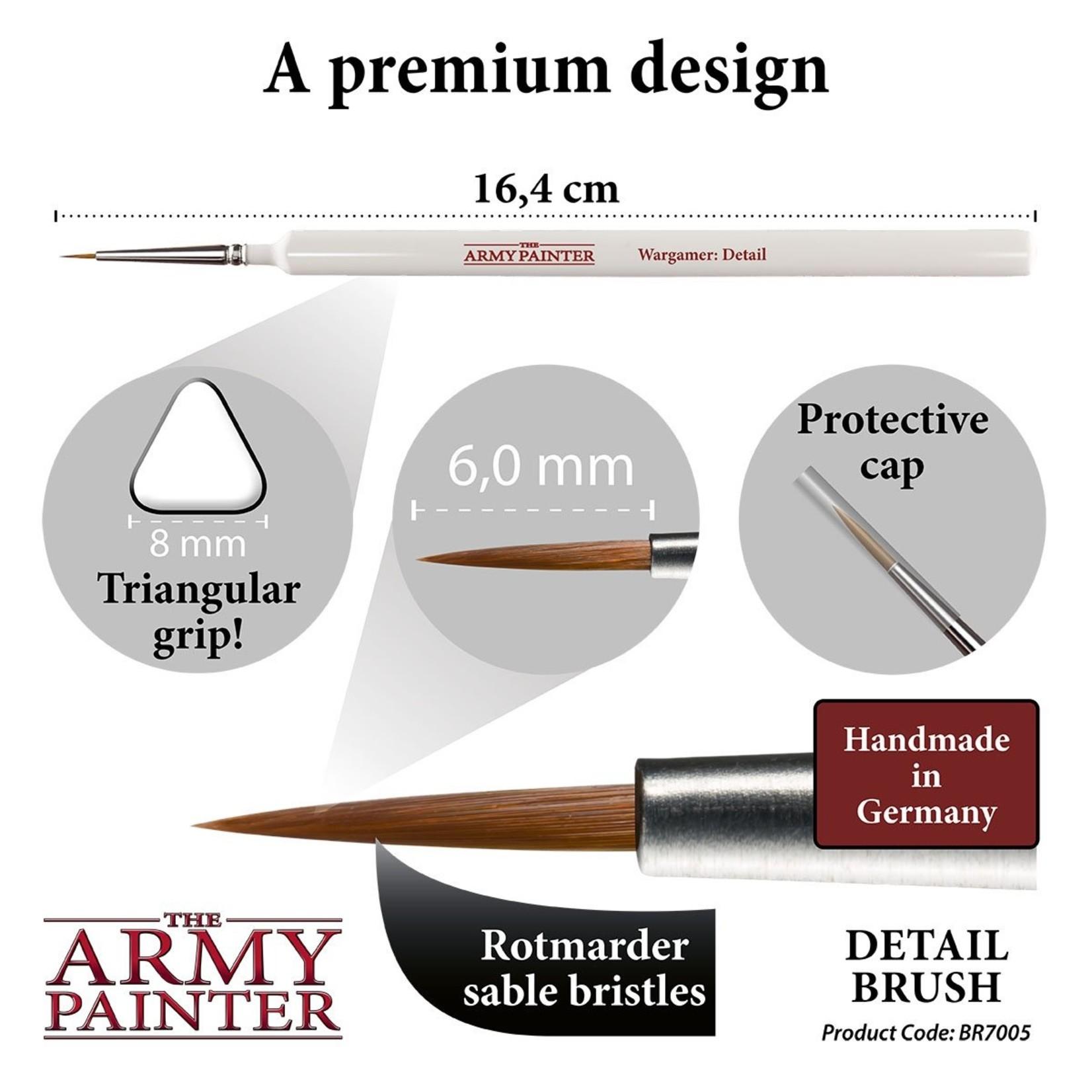 The Army Painter 7005 Wargamer Brush Detail