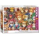 EuroGraphics Puzzles Venetian Masks 1000 Pc