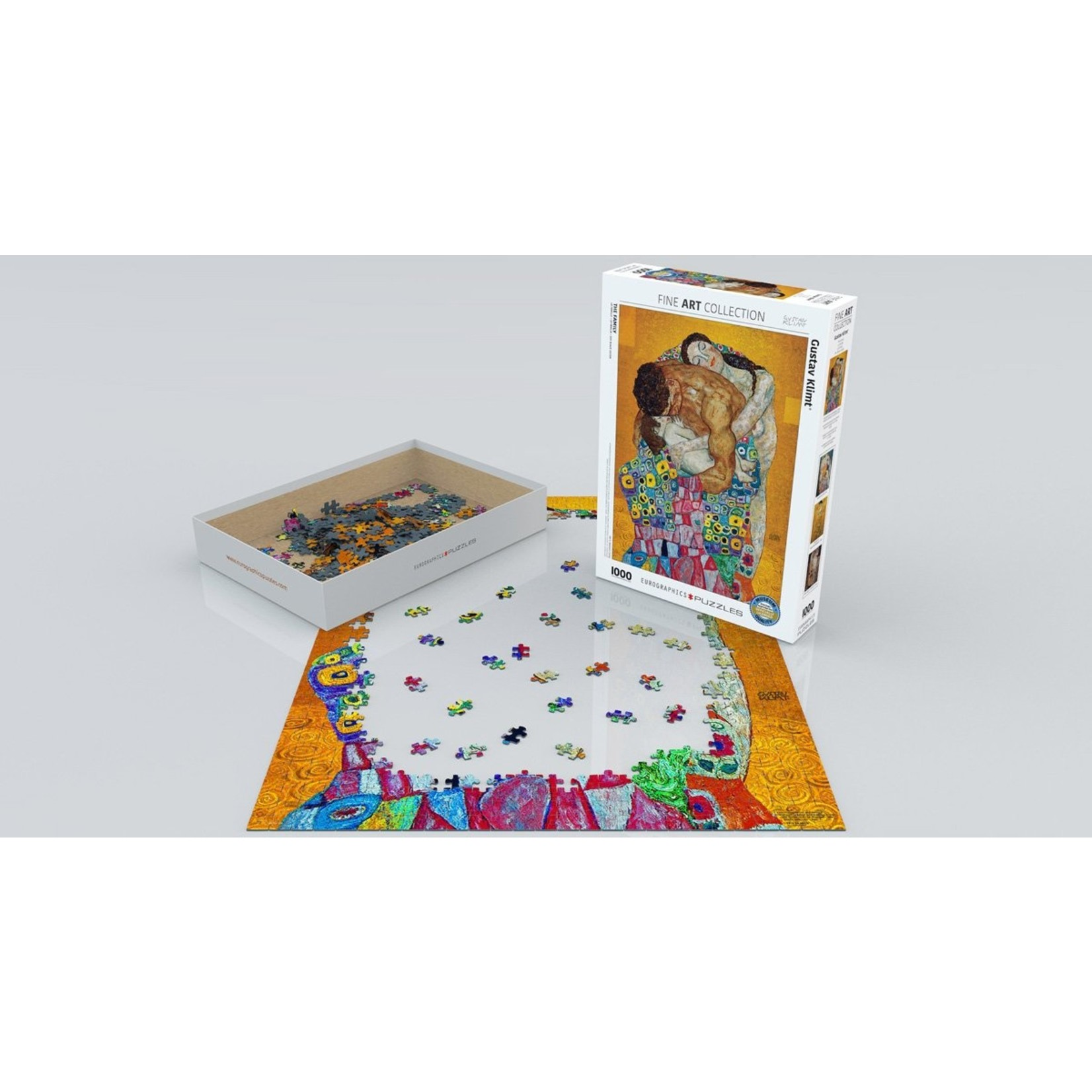 EuroGraphics Puzzles The Family 1000 Pc