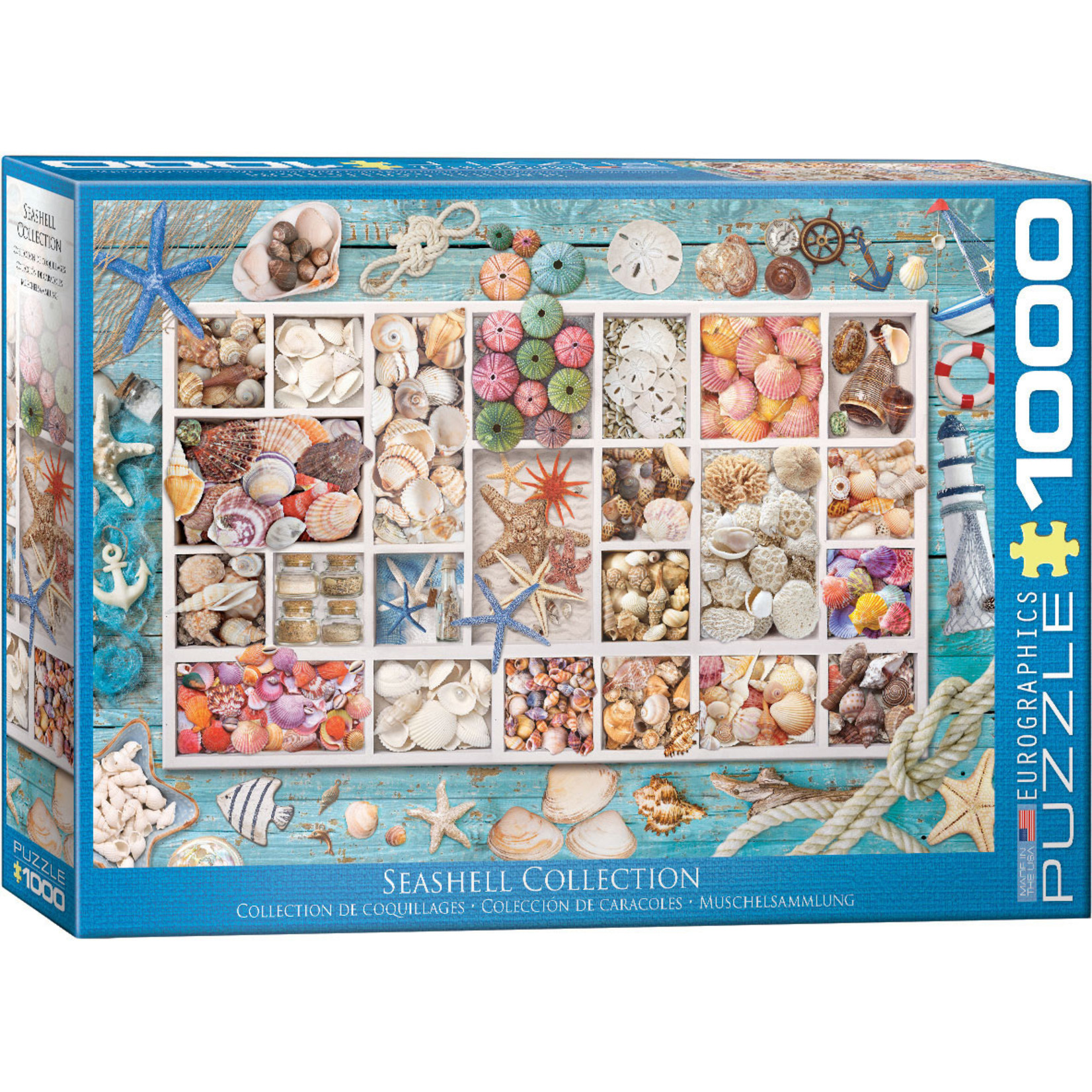 EuroGraphics Puzzles Seashell Collection 1000 Pc
