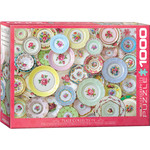 EuroGraphics Puzzles Plate Collection 1000 Pc