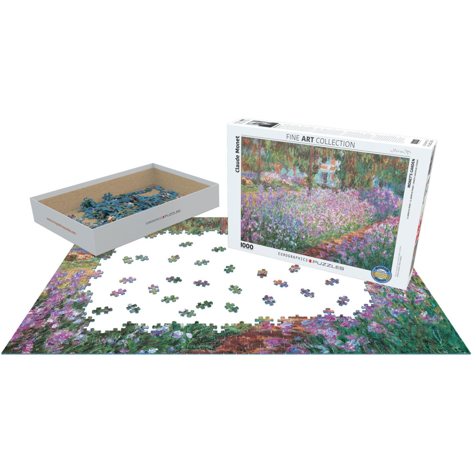 EuroGraphics Puzzles Monet's Garden 1000 Pc