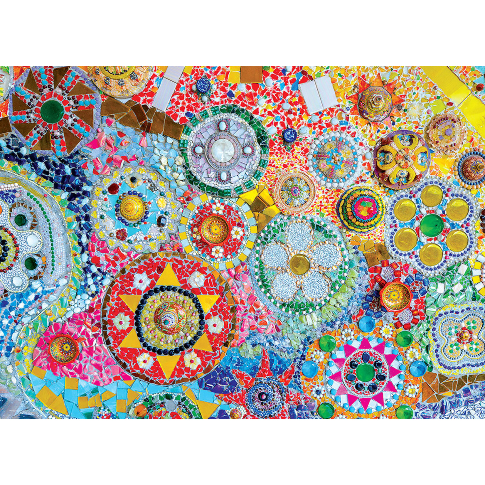 EuroGraphics Puzzles Thailand Mosaic 1000 Pc