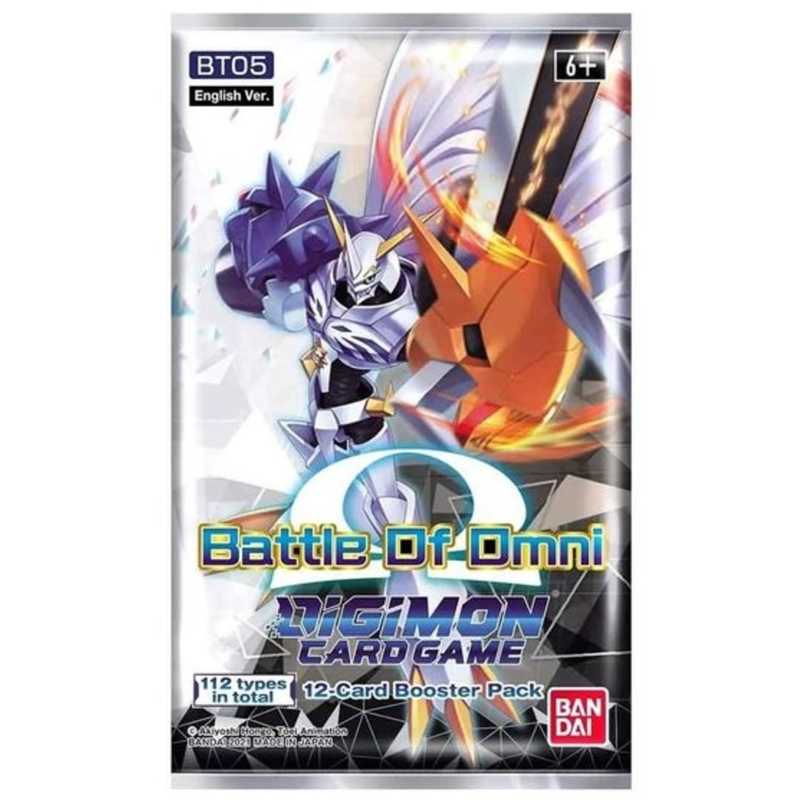 Bandai America, Inc. Digimon TCG: Battle of Omni Booster Pack
